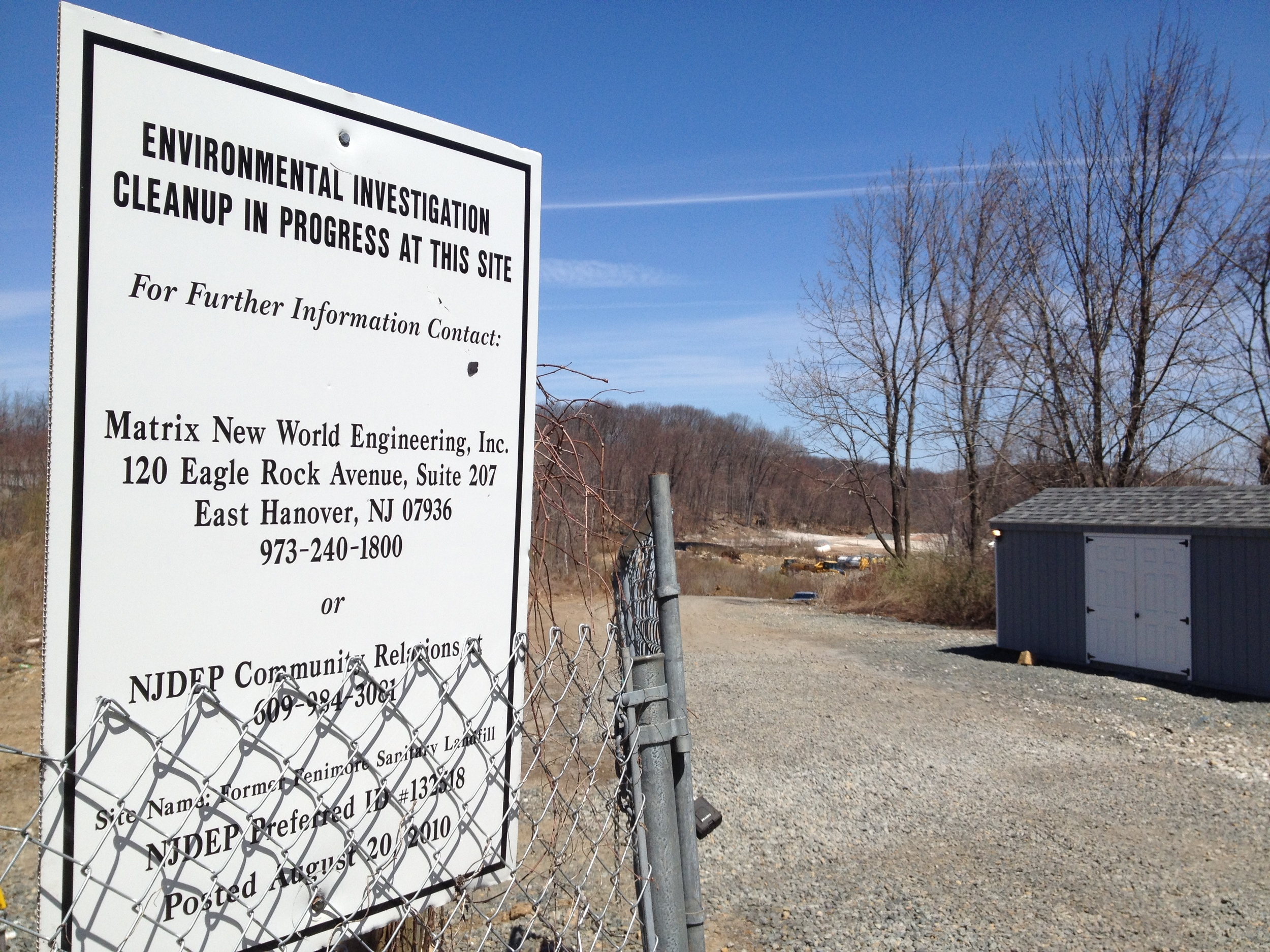 Is Sandy debris in Roxbury's Fenimore Landfill poisoning town's residents?