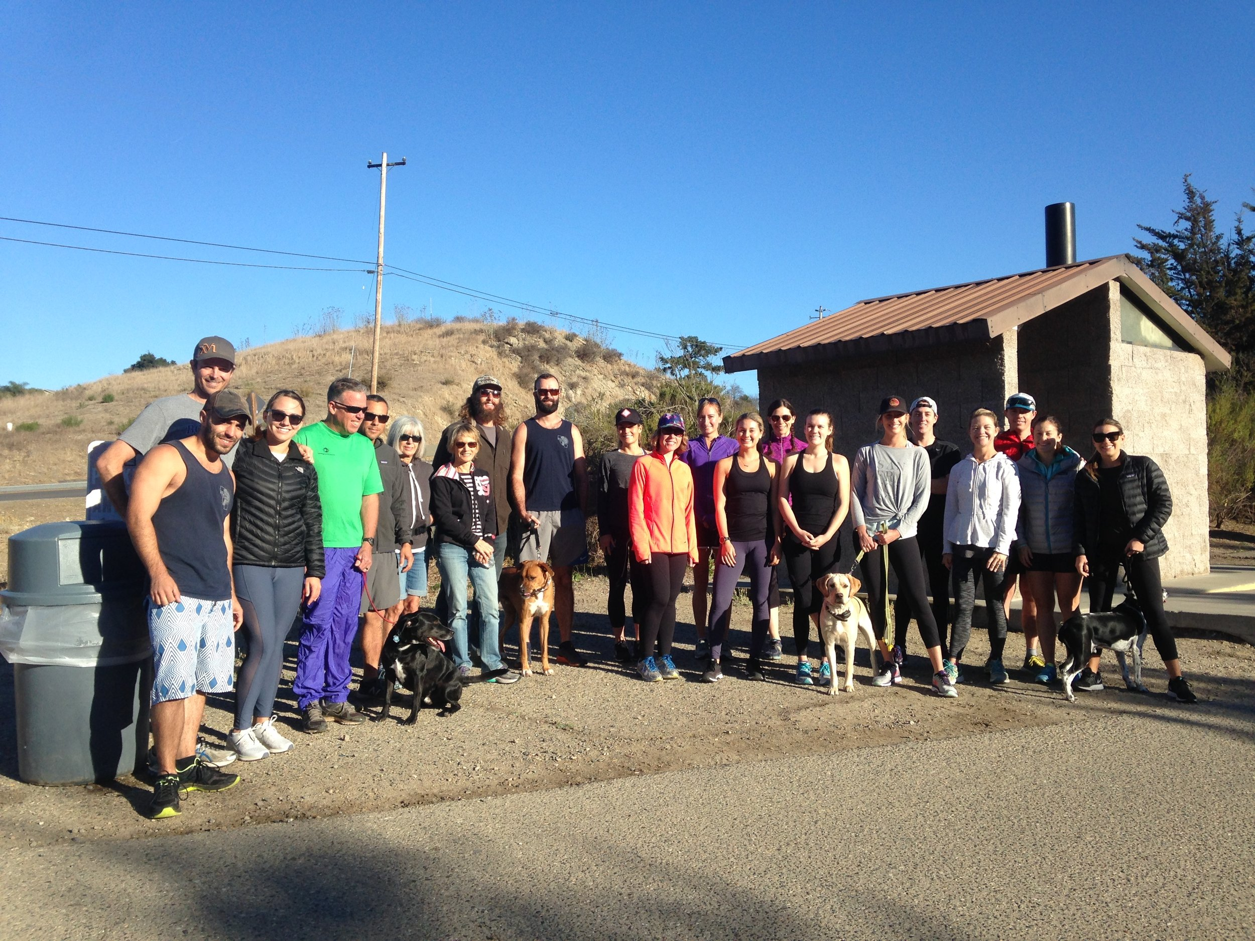 The first official SLO Rafiki Run included many Run the 1 runners but also some new faces too