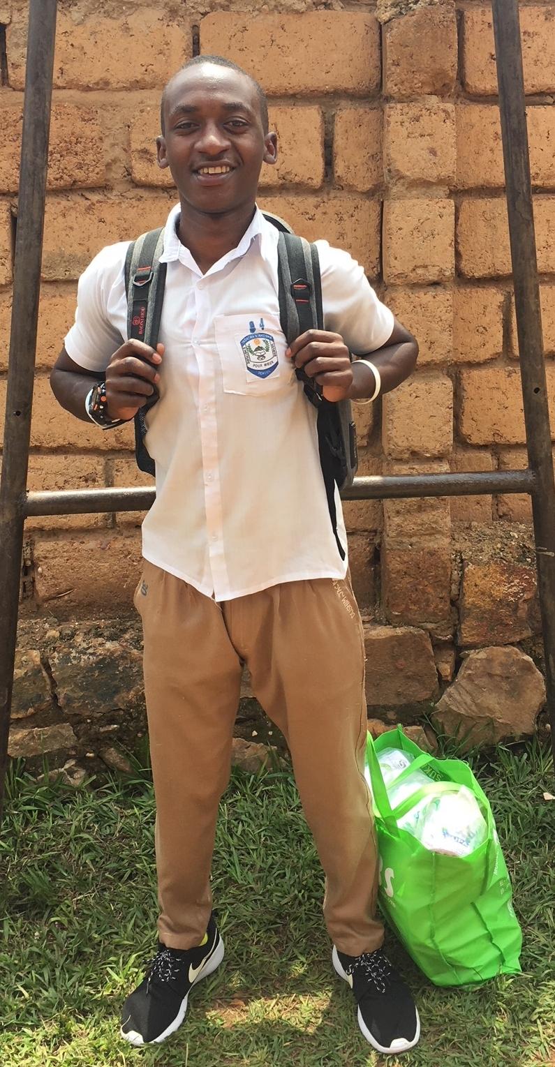 Jack before he left for school