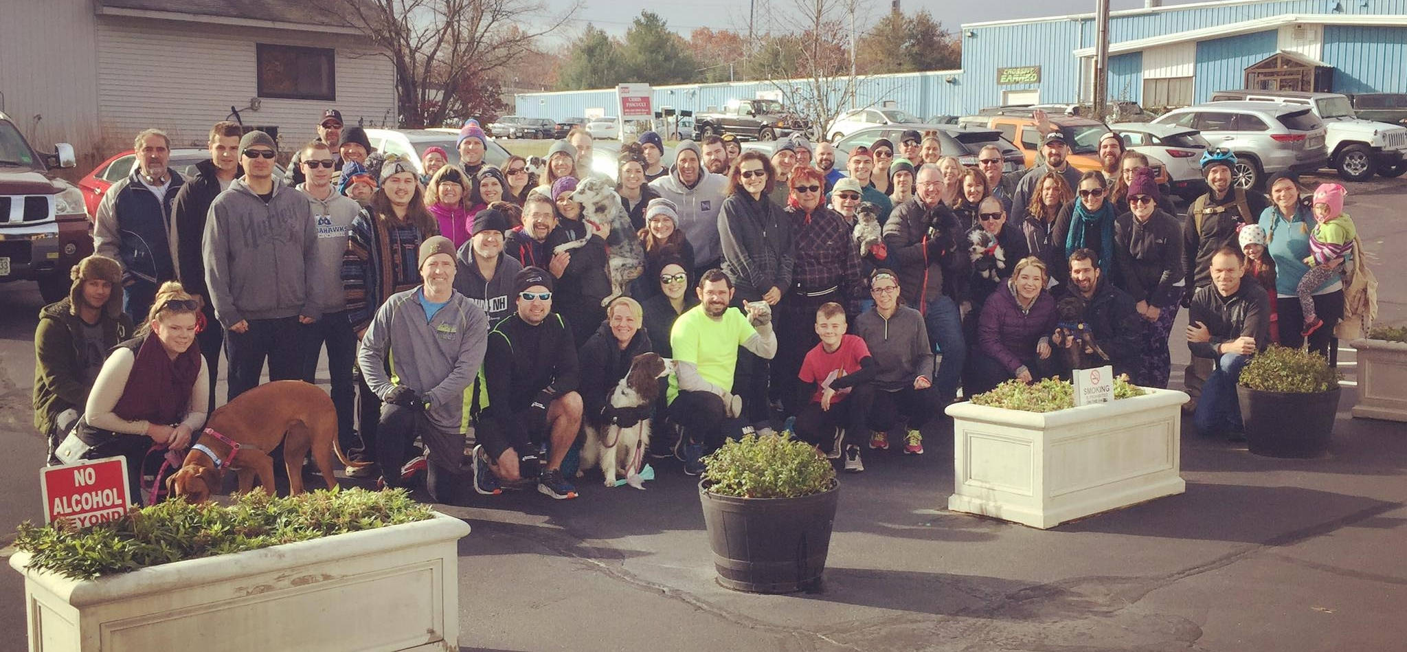 Our biggest Rafiki Run is put on by the Able Ebenezer Brewing Company and Heather Martin in Merrimack, NH