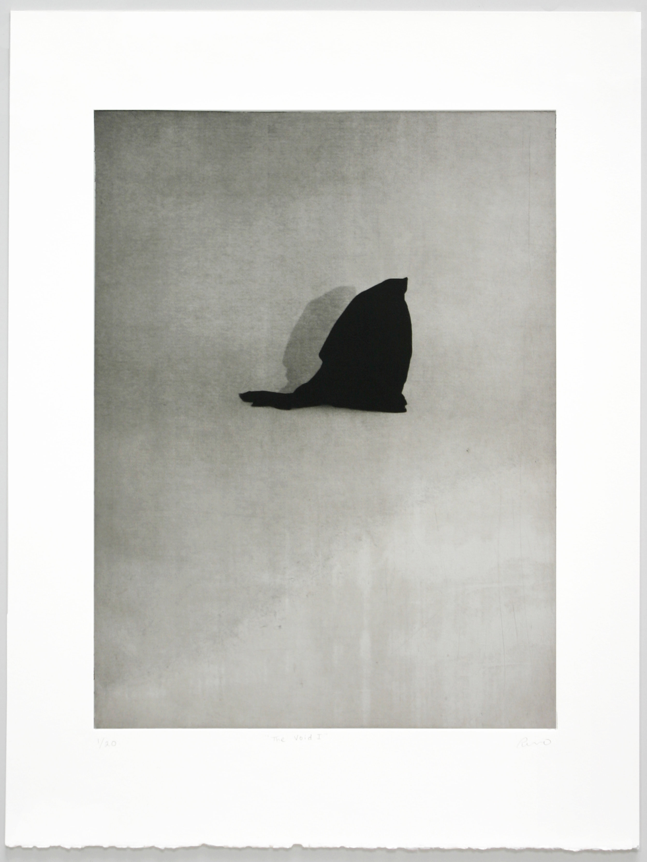 """""""The Void I""""   Christina Pumo  Solarplate etching"""