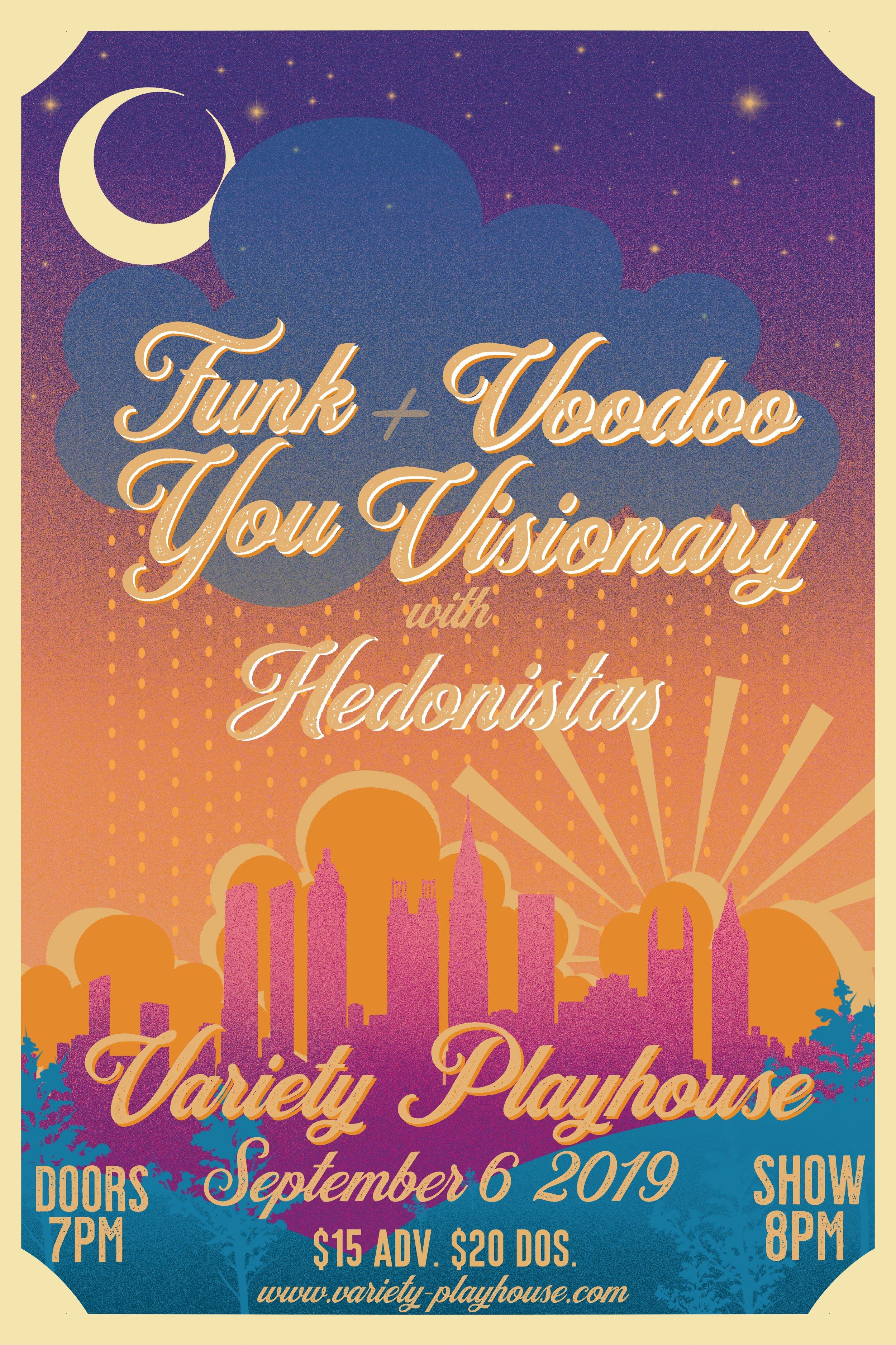 Tickets: http://www.ticketfly.com/event/1868286-funk-you-voodoo-visionary-atlanta/?utm_medium=459899