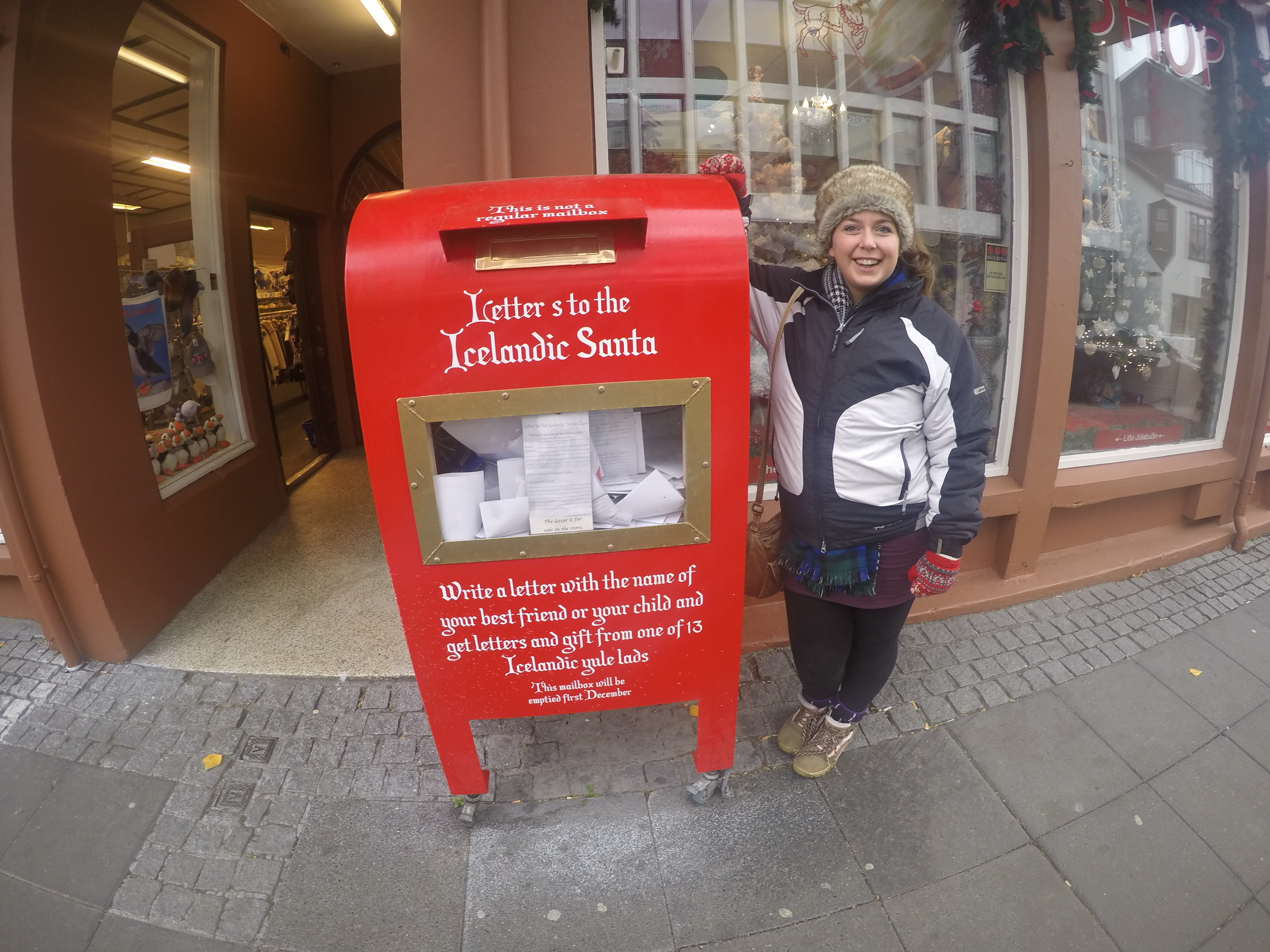 You can post your letters to Santa here too!