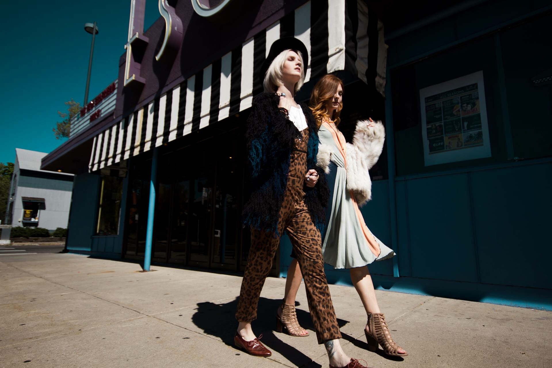 Photographer Molly Repetti. Models Kris Baxter(left) Alyssa Campbell (right)