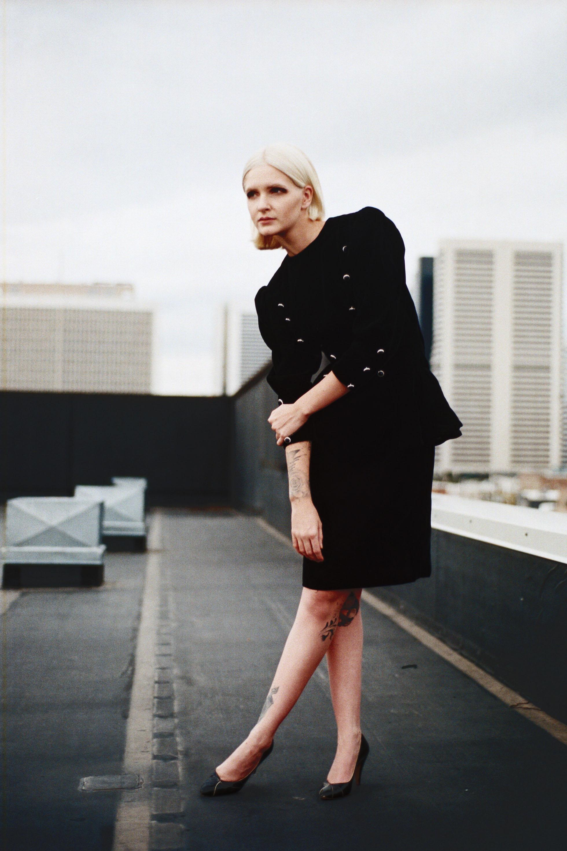 Victor Costa Velvet Dress from Bergdorf Goodman
