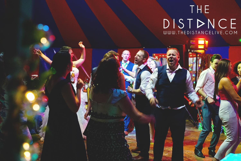 Poachers hideaway wedding band - The Distance