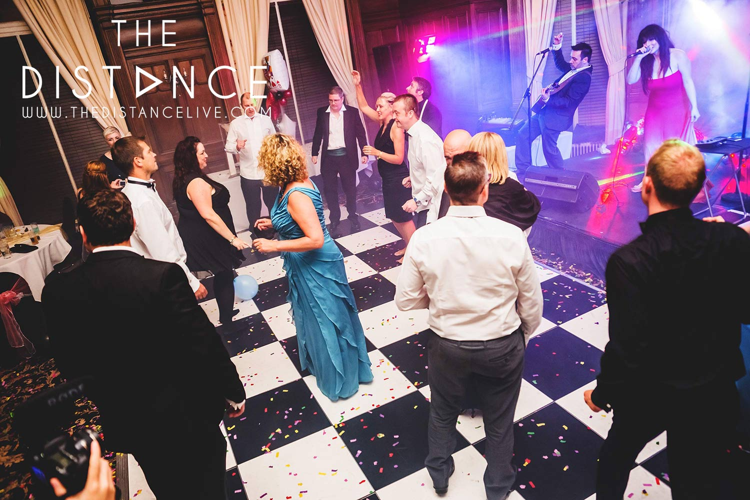 Bradford party band wedding band | The Distance