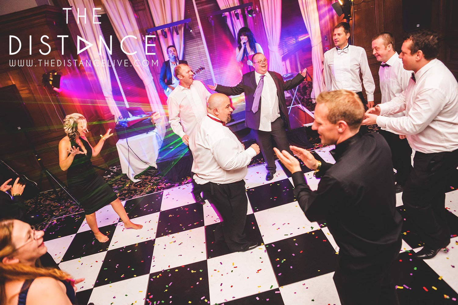 Bradford party band wedding band   The Distance