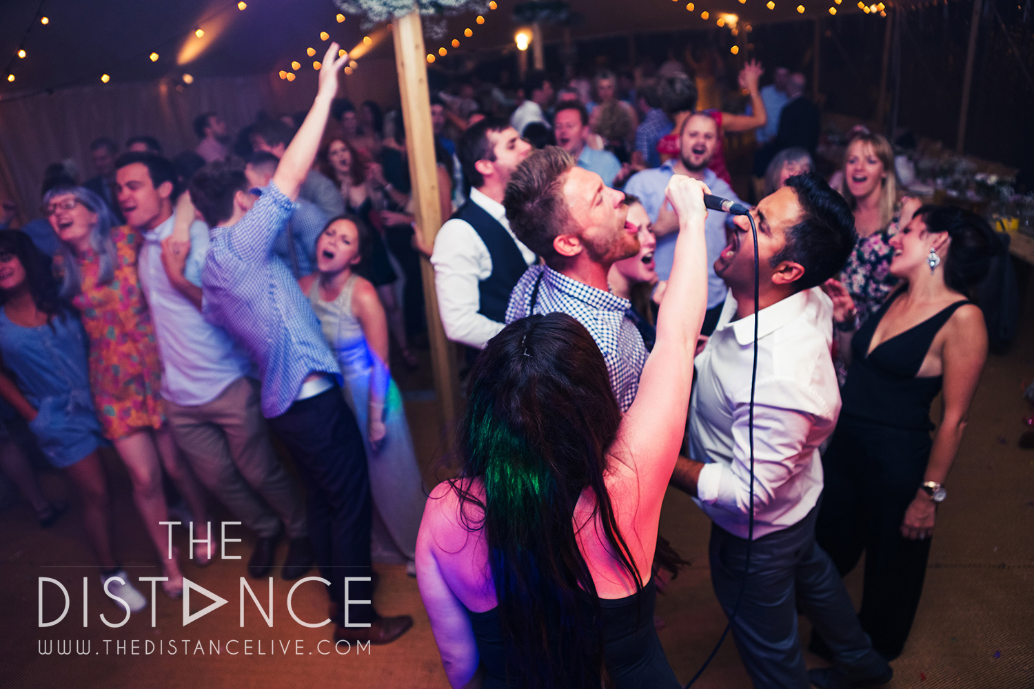 Blackpool Wedding Band // The Distance