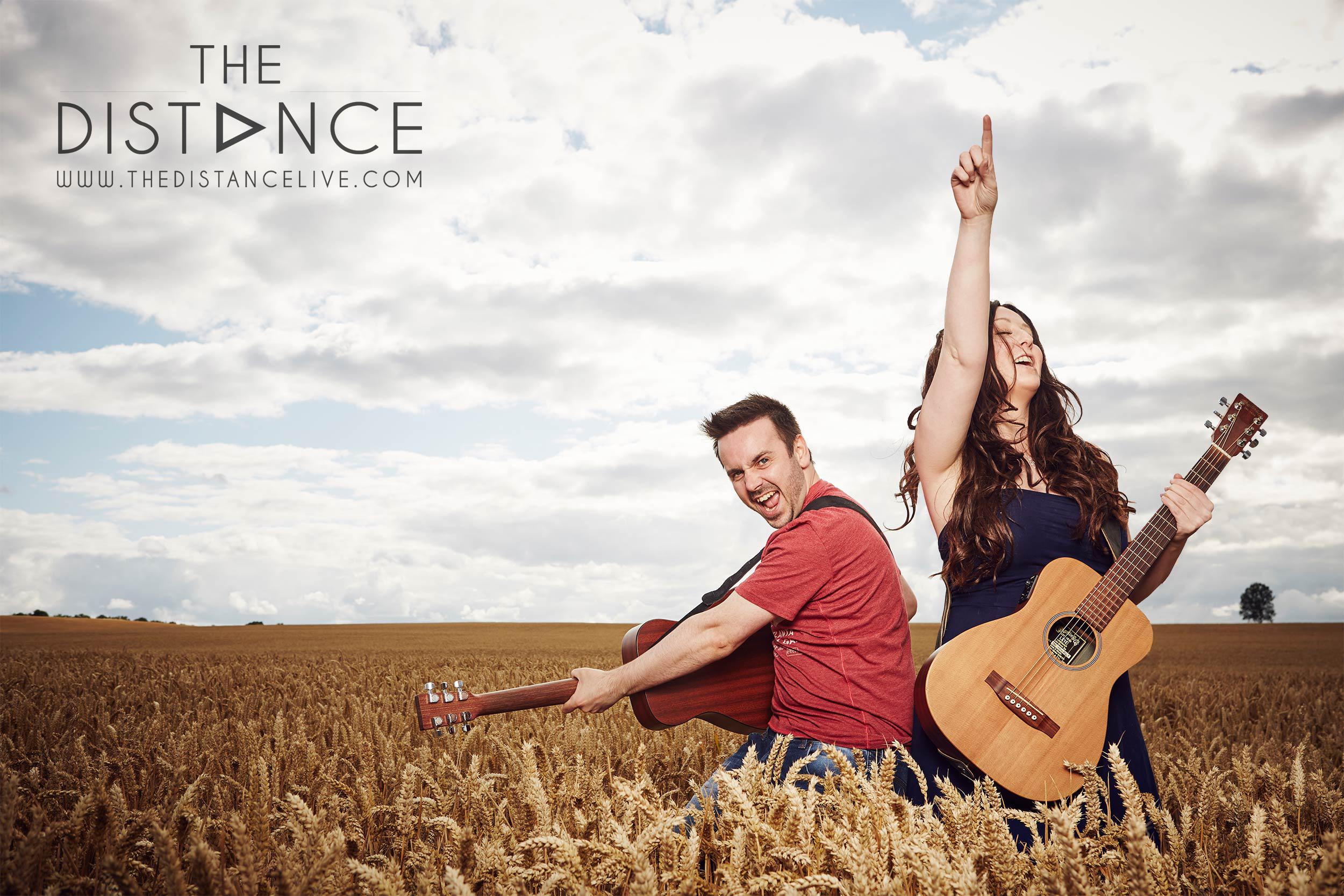 Live Wedding Breakfast Music // The Distance