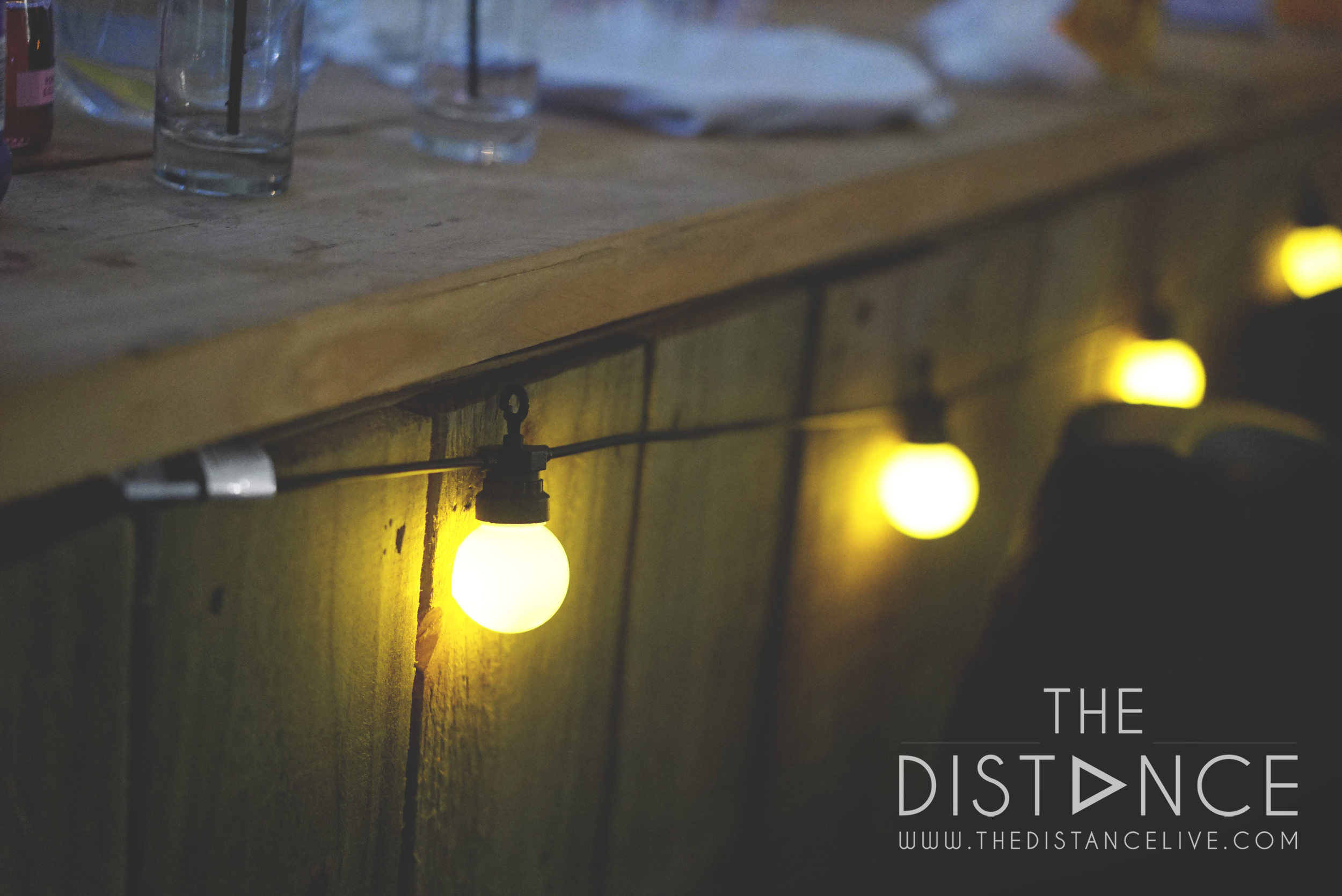 The granary at fawsley Wedding Band | The Distance