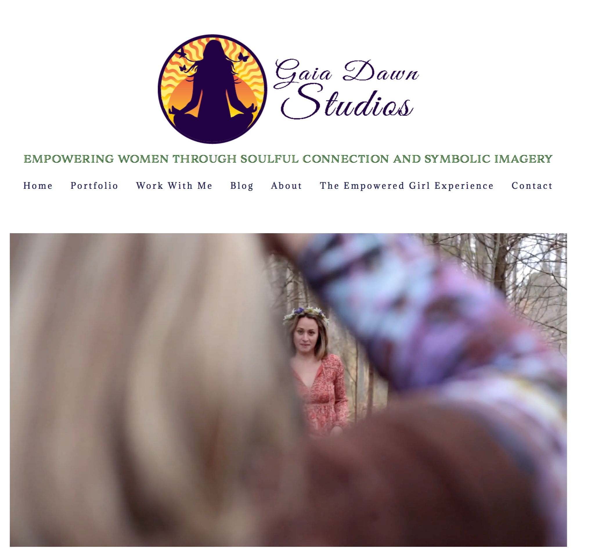 Visit  www.Gaiadawnstudios  home page to see how a video can help better describe your services.