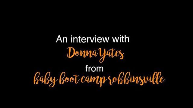 You may have noticed my posts about Baby Boot Camp Robbinsville and I am an ambassador of the brand to help promote how awesome Baby Boot Camp is!  I needed Donna Yates help with this one... Our challenge this week was an interview with our Baby Boot Camp owner.  If you are curious about Baby Boot Camp and want to learn more, let me know and I'll tell you all about it! @babybootcamprobbinsville  @babybootcampglobal  #momstrong #mombassador #babybootcamp #fitforthejourney