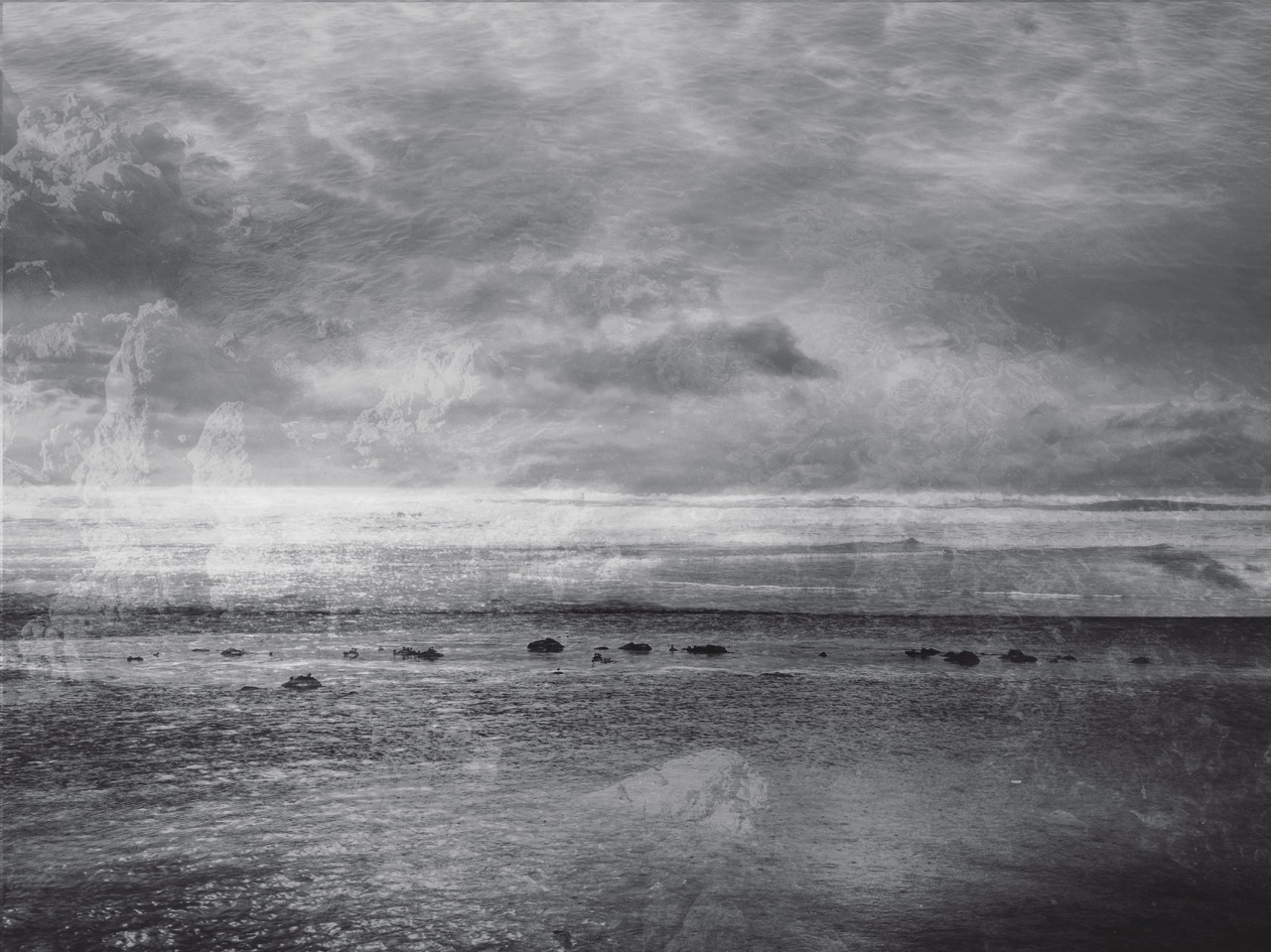 Amy Tavern,The Sea is Always the Same, digital print.