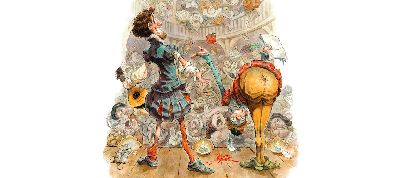 Key art illustration by Peter de Sève.