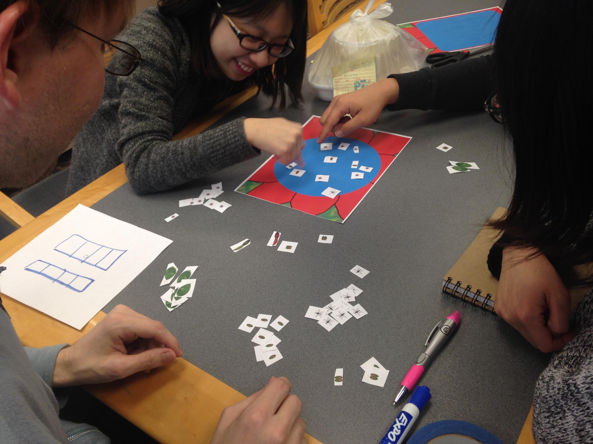 Team Gaia Paper Playtest