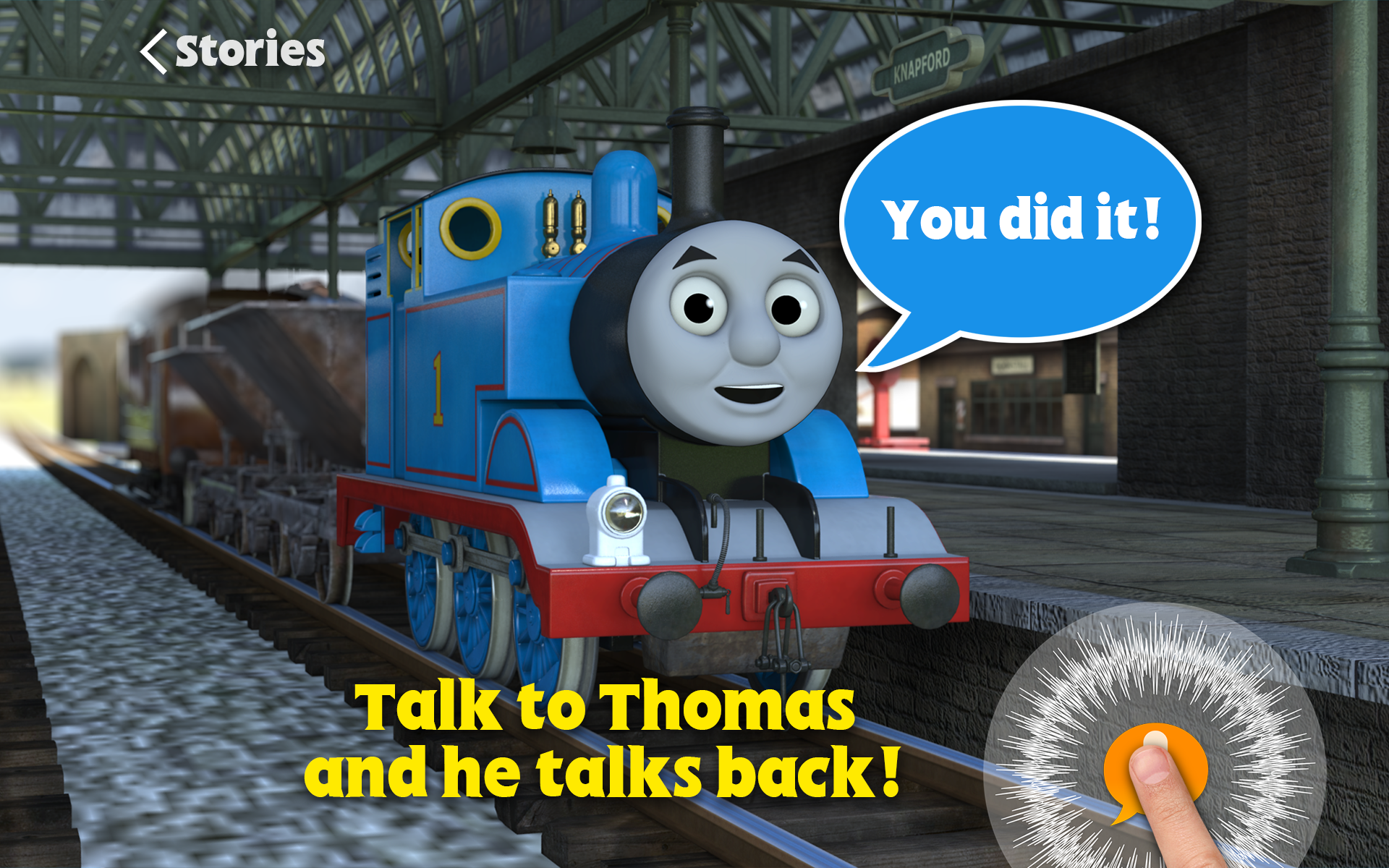 Thomas and Friends talk to you screenshot