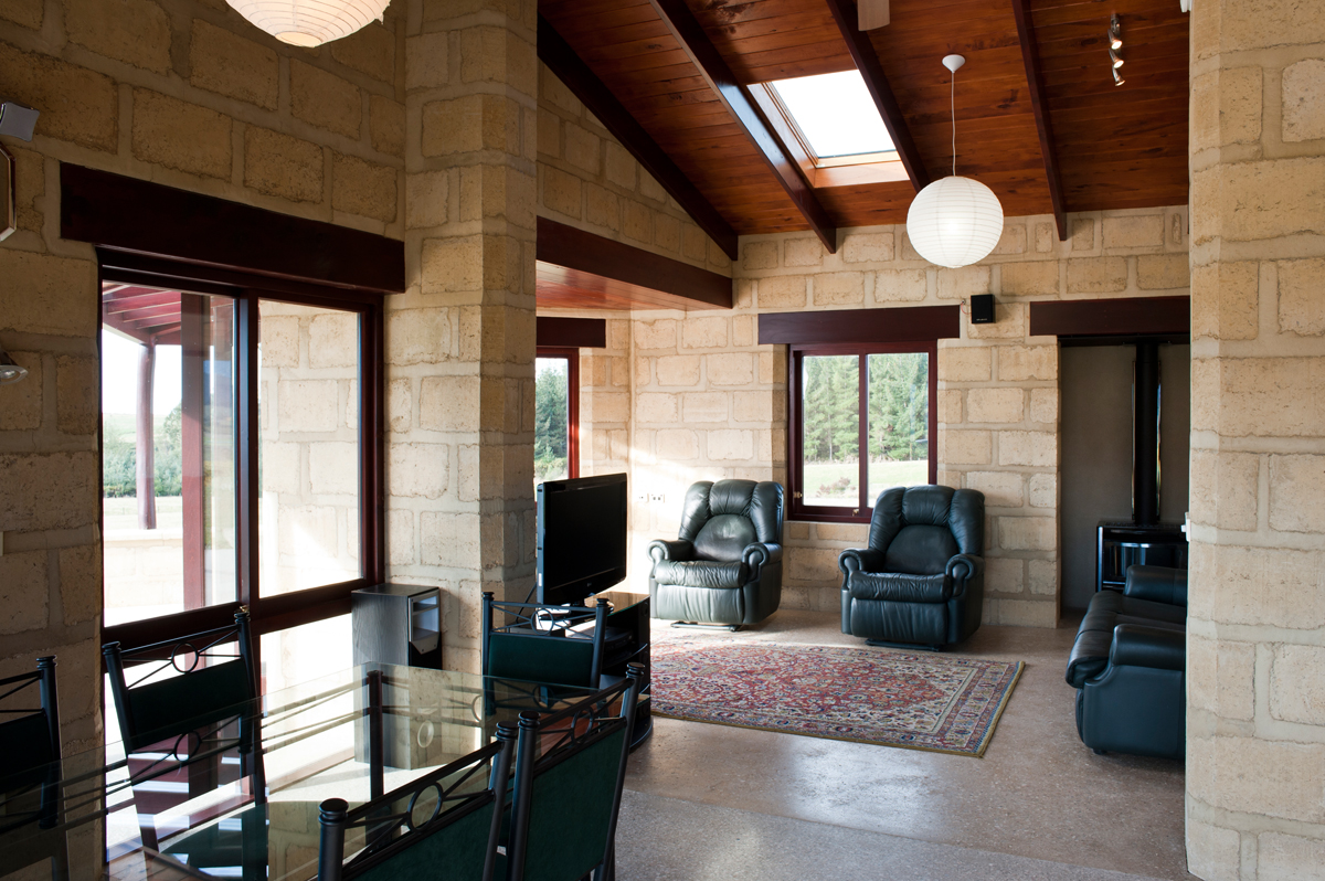 Adobe Block Country Cottage