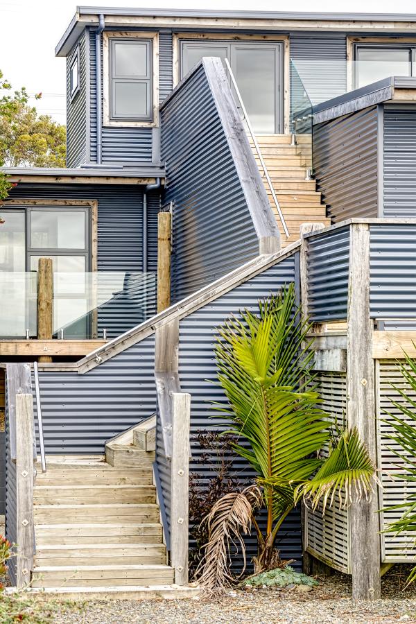 Beach House in the Bay
