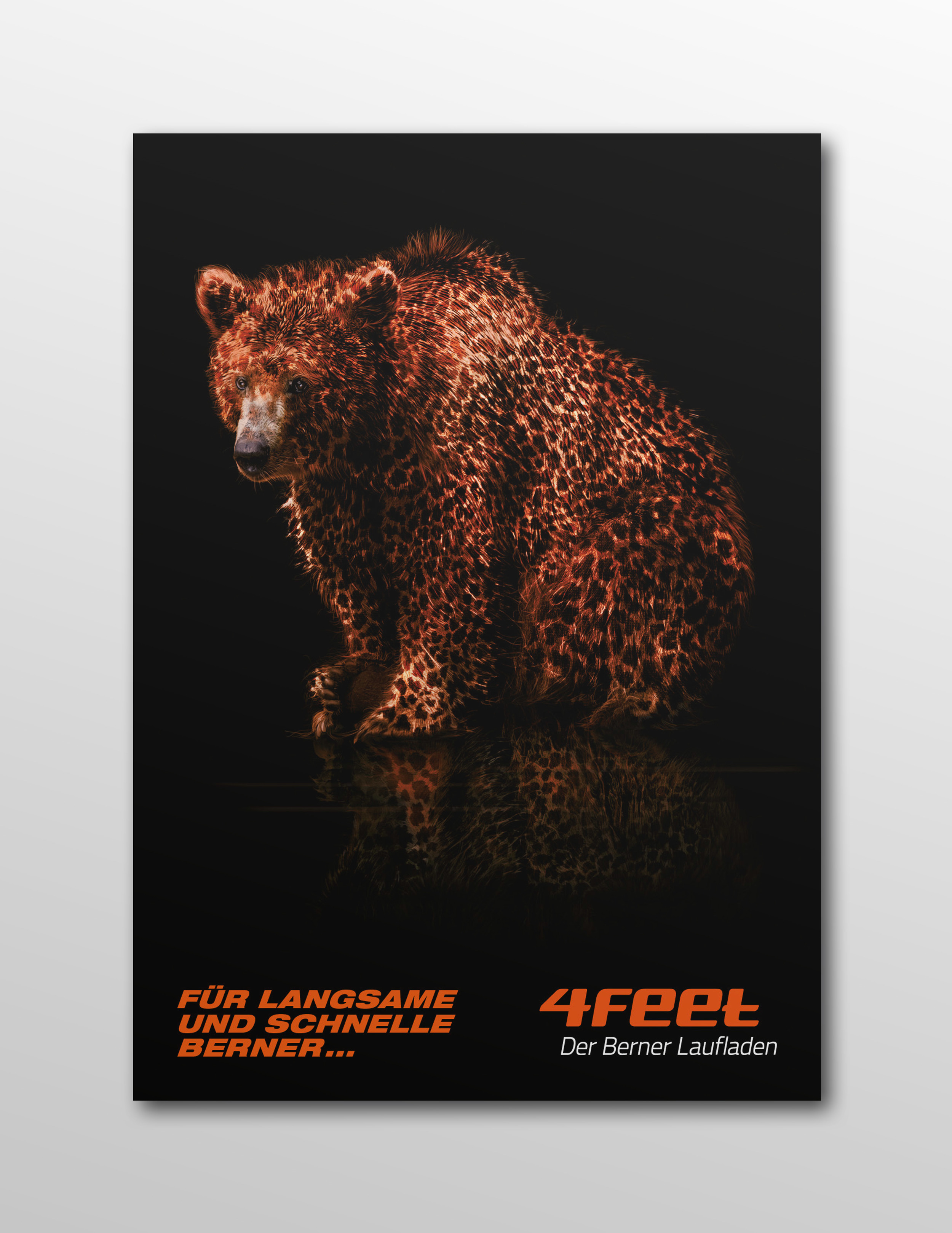 4feet Laufladen Bern, Keyvisual, Corporate, Kommunikation