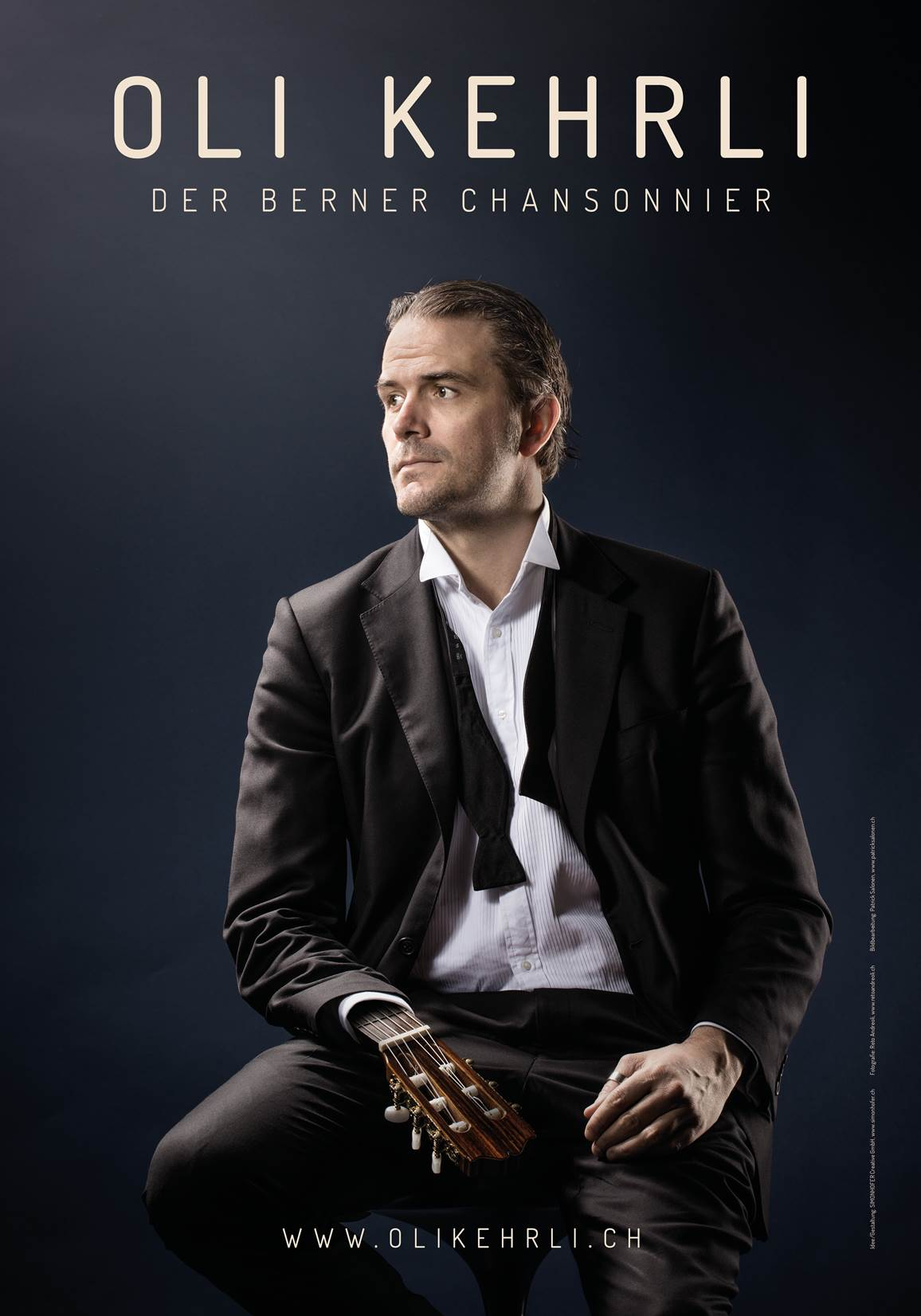 F 200 Plakatkampagne für den Berner Chansonnier Oli Kehrli