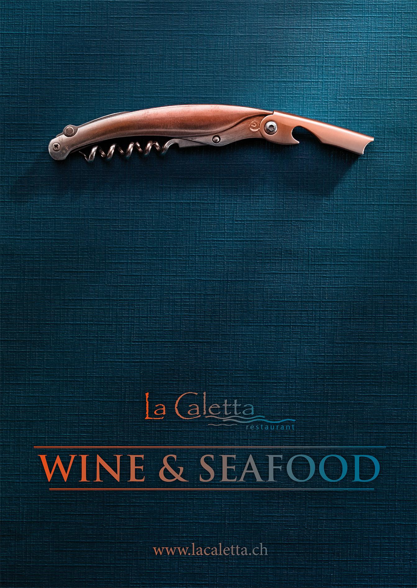 La Caletta Fischrestaurant. Keyvisual, Corporate und Kommunikation