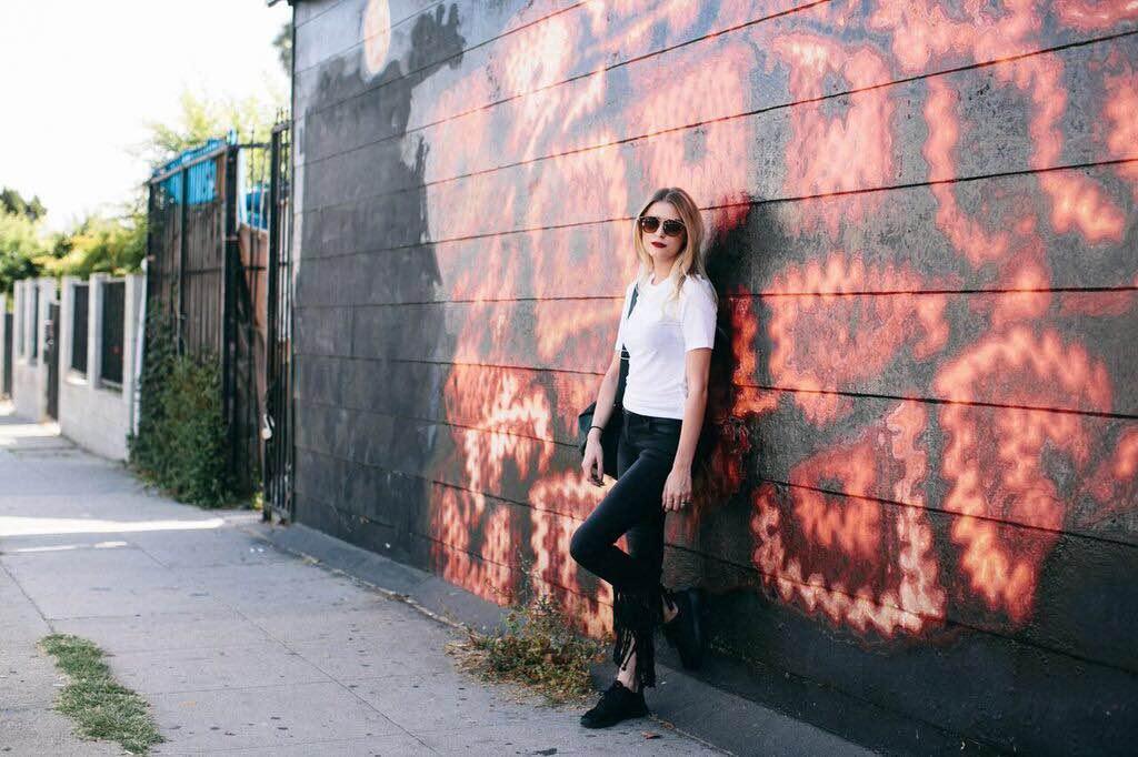 Jeans: Litz from Eden Sky, T-Shirt: H&M, Backpack:Forever 21, Shoes: Nike, Rings: Foever 21, Sunnies: Forever 21, Keychain: Eden Sky