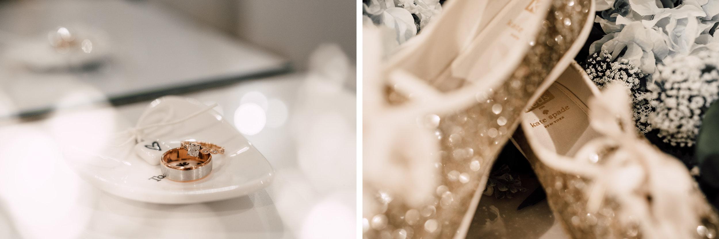 wedding details, ring details