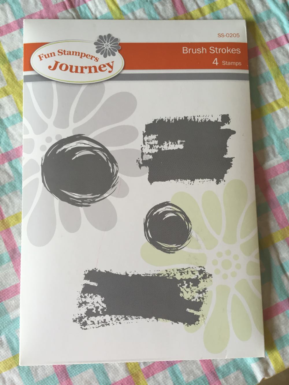 Fun Stampers Journey Brush Strokes item number SS-02015