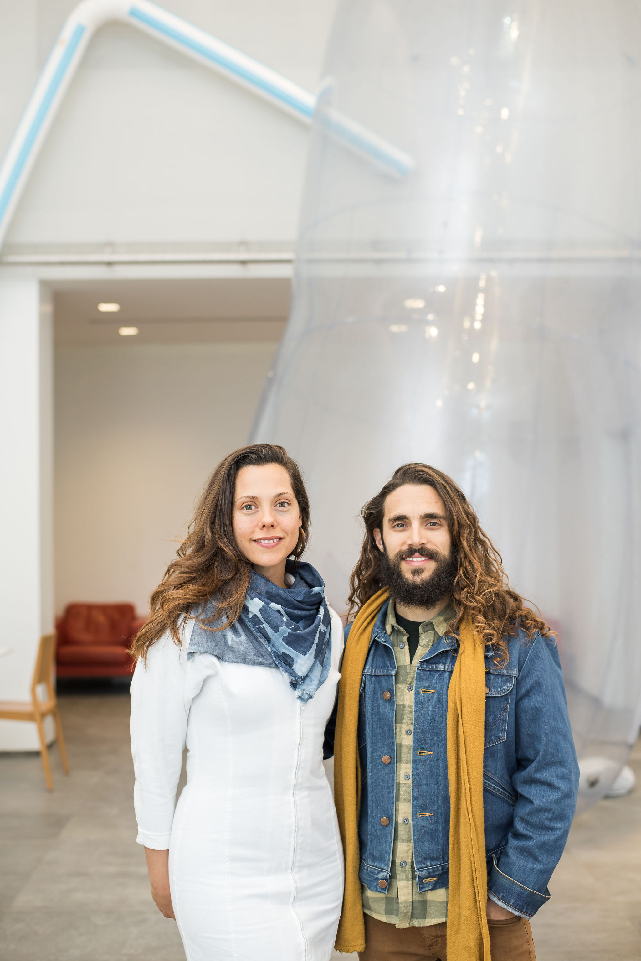 Jana and Matthew at their 2019 Installation in Toronto.
