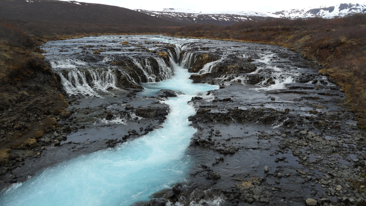 This is Bruarfoss.