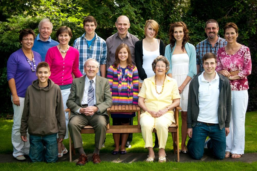 Family portrait in cambridge