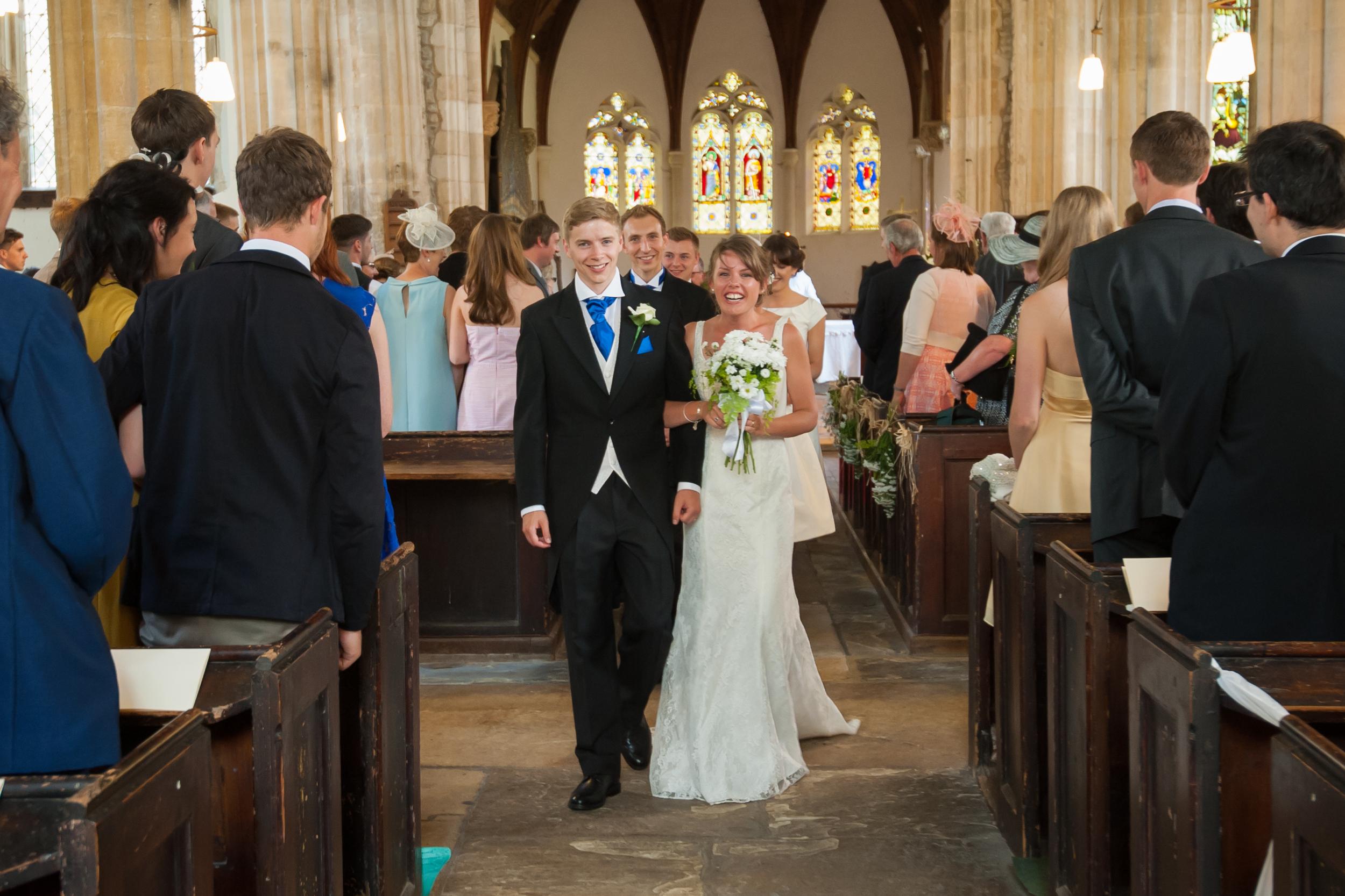 Cambridge Wedding photography bride & groom