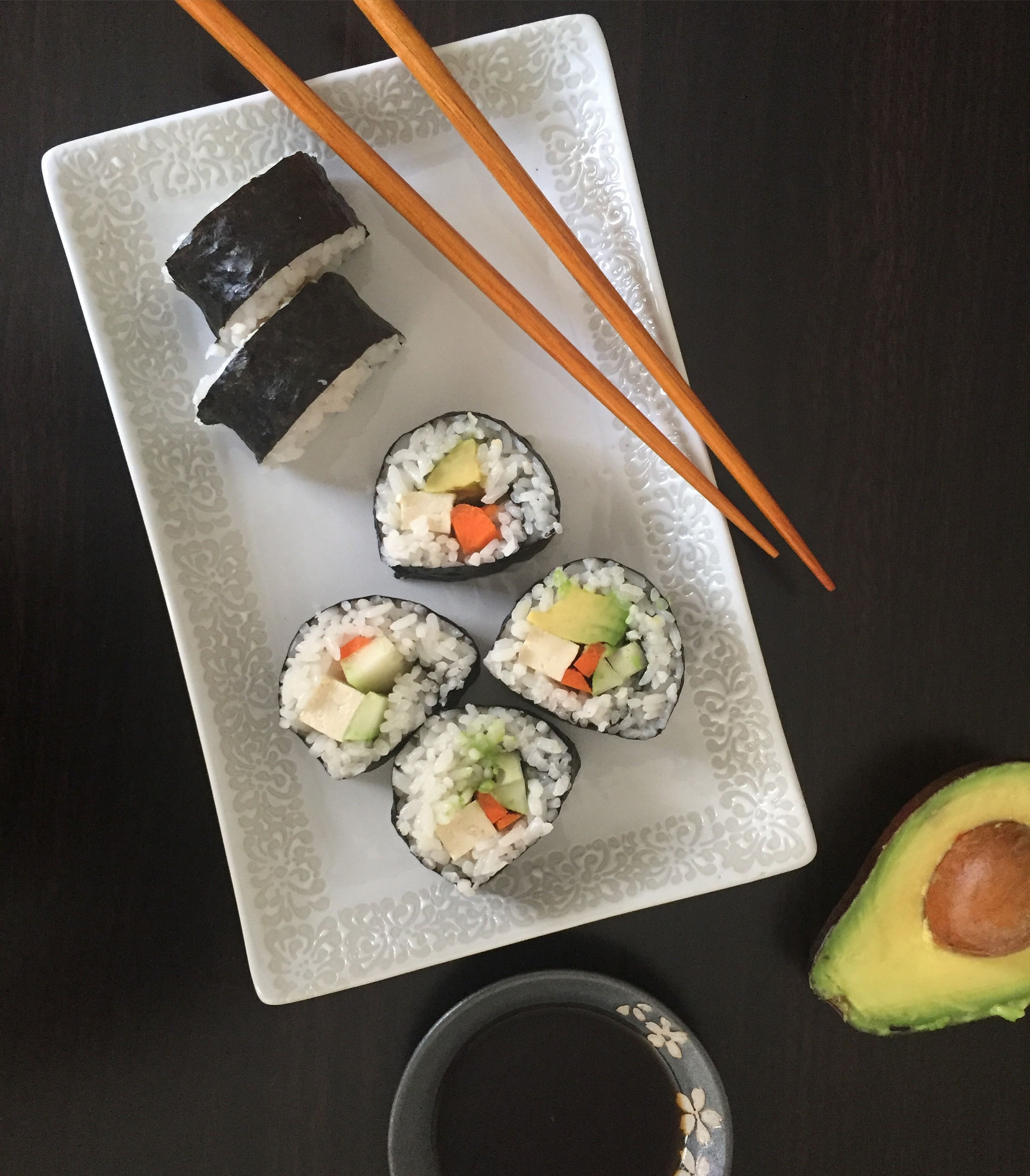 NV_Veggie Rolls with Avocado
