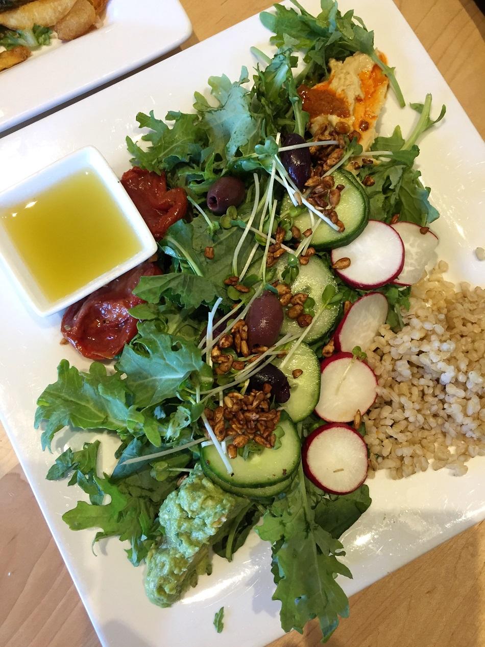 Buddha Salad (vegan) at People's Organic