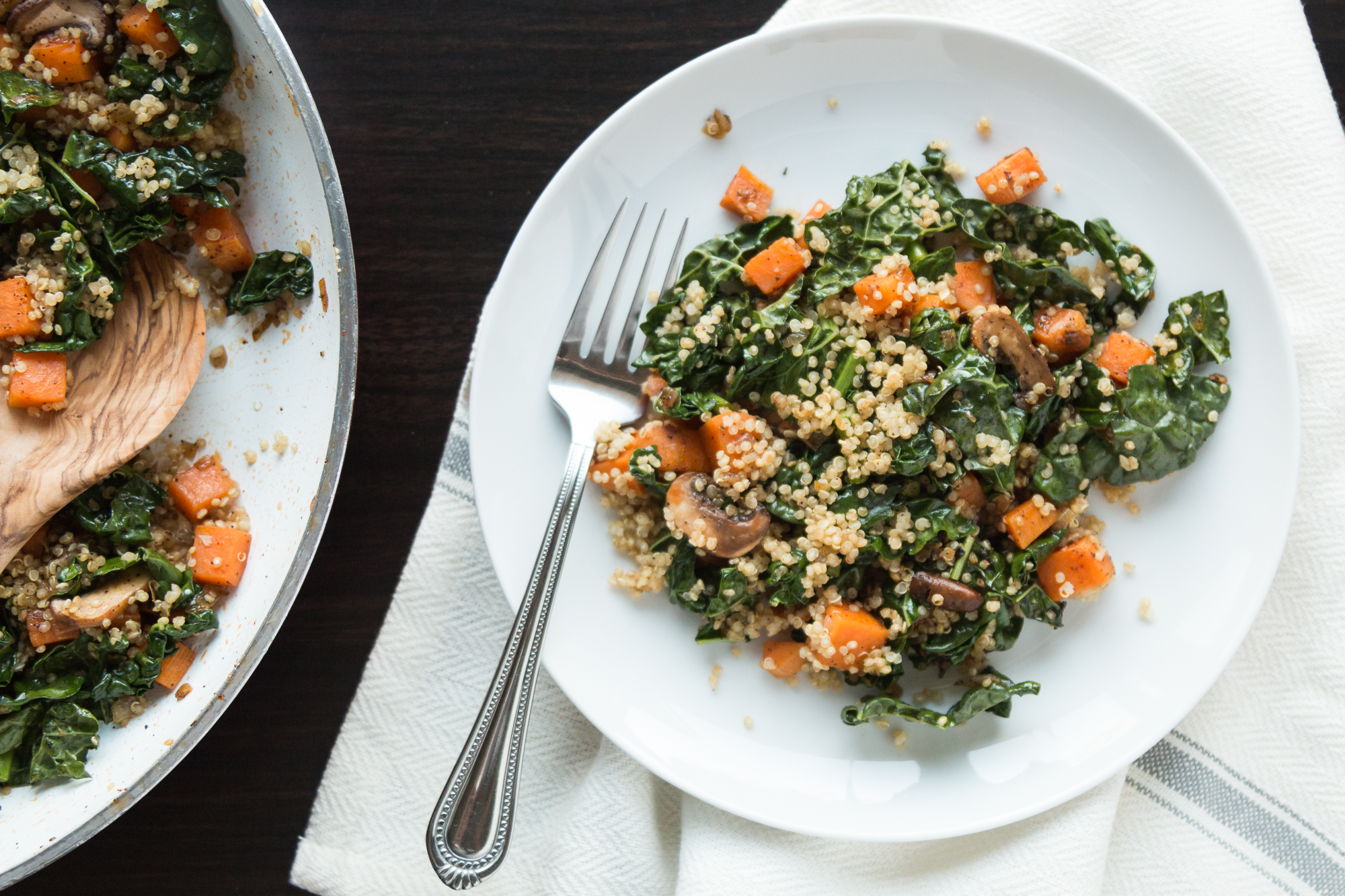 Picadillo Vegano de Camote y Quinoa