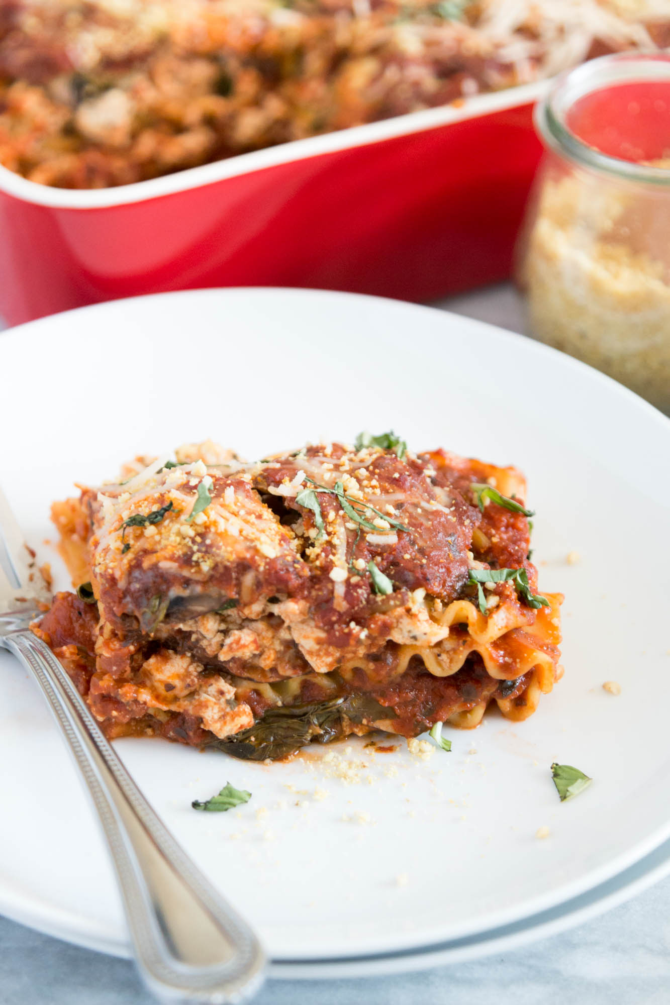 Vegan Lasagna with Tofu Ricotta