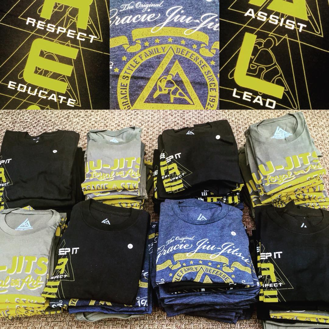 Gracie Academy   (website)   Self Defense T-Shirts