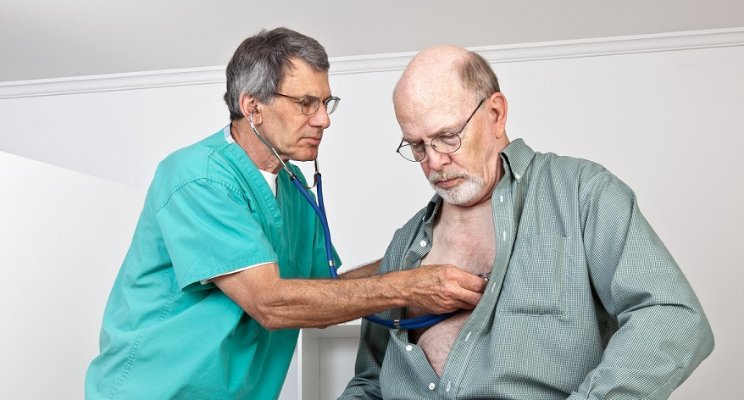 Nurse Checking Patient's Heartrate