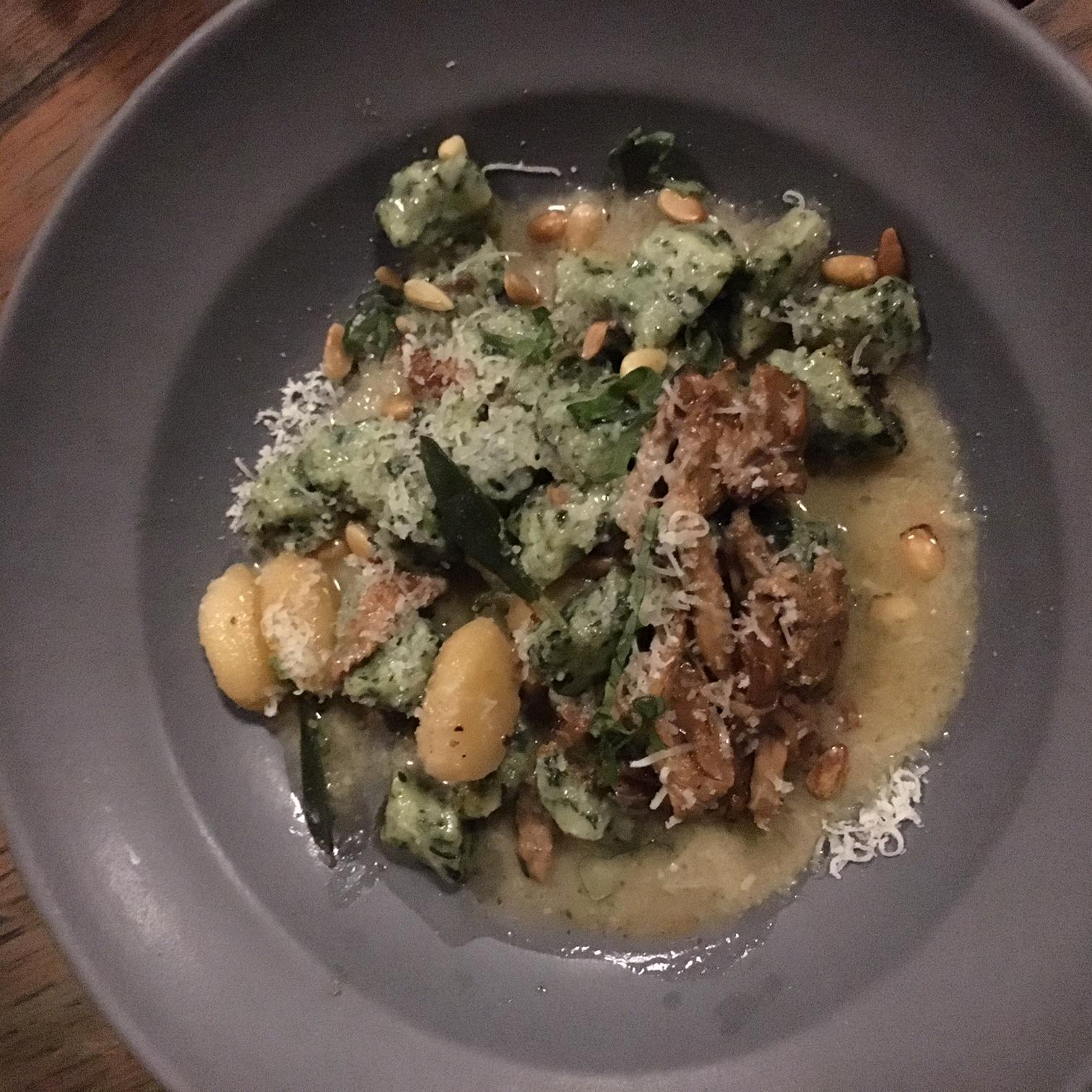 Spinach & Ricotta Gnudi