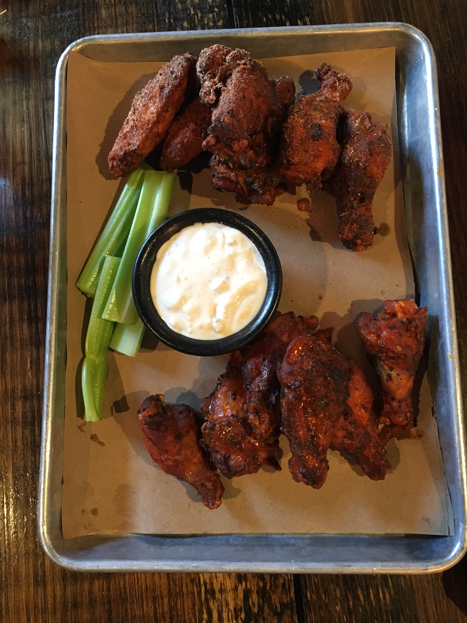Smoked Chicken Wings $15
