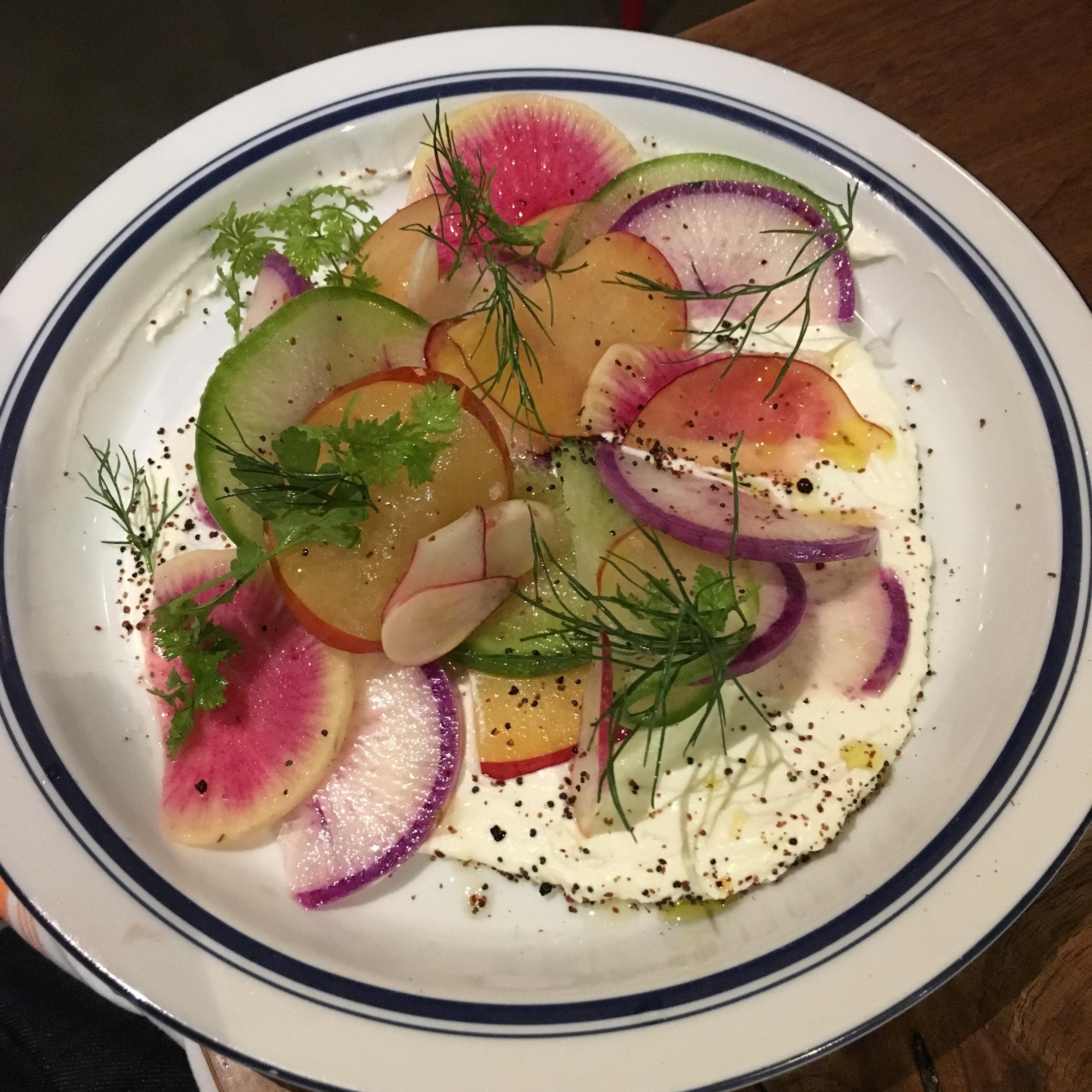 Spring Radish Salad $14