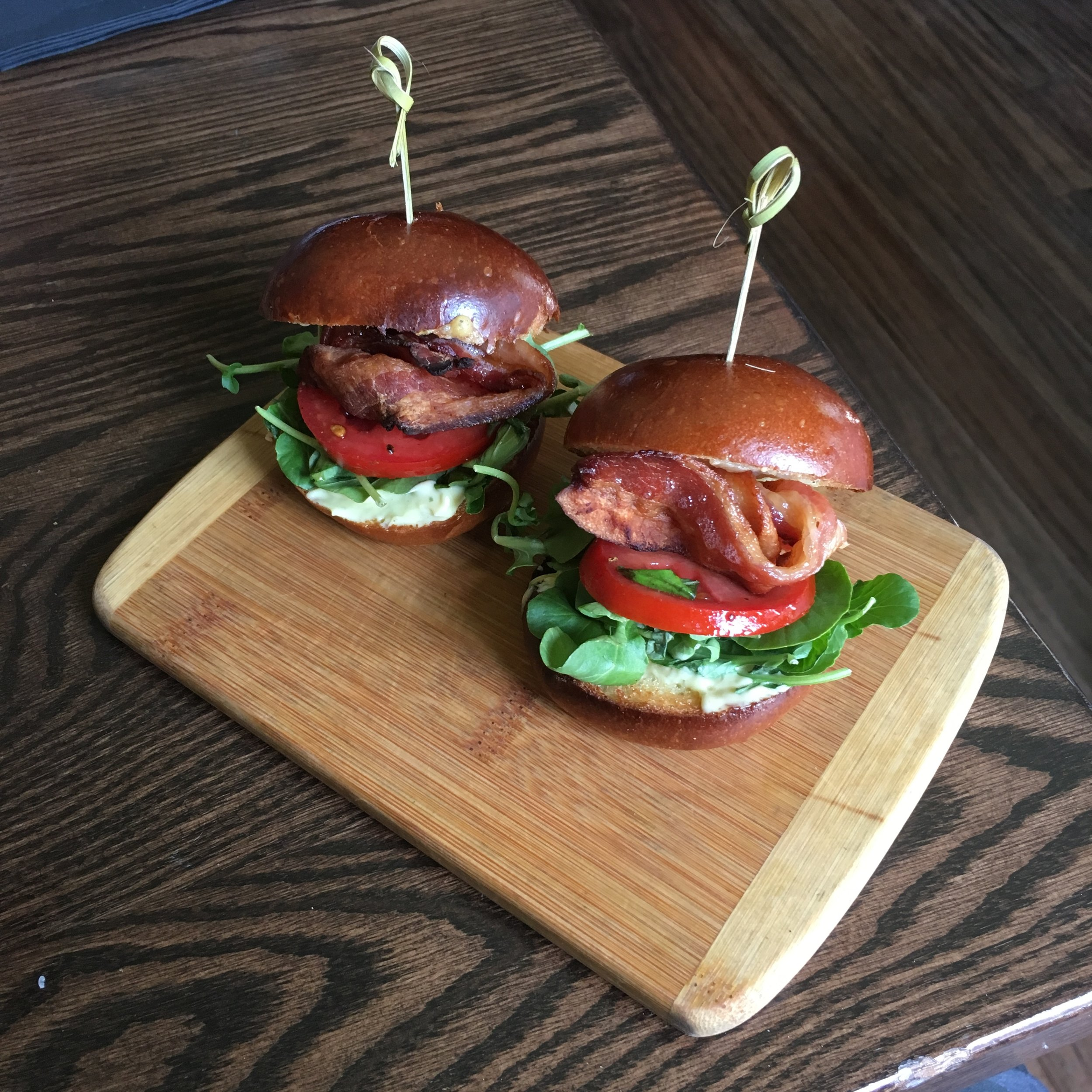 BLT Sliders $9