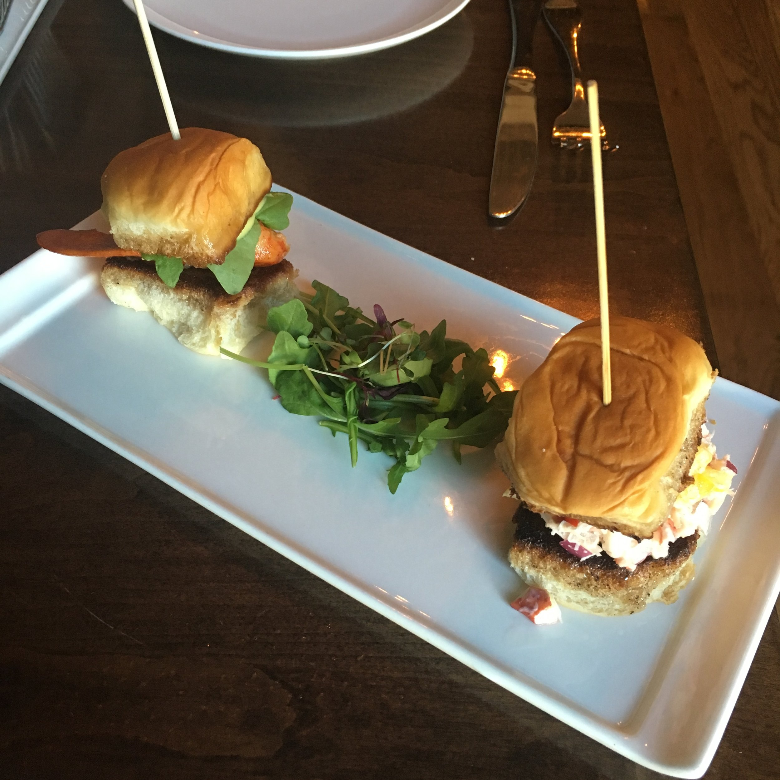 Maine Lobster Slider Duo $15