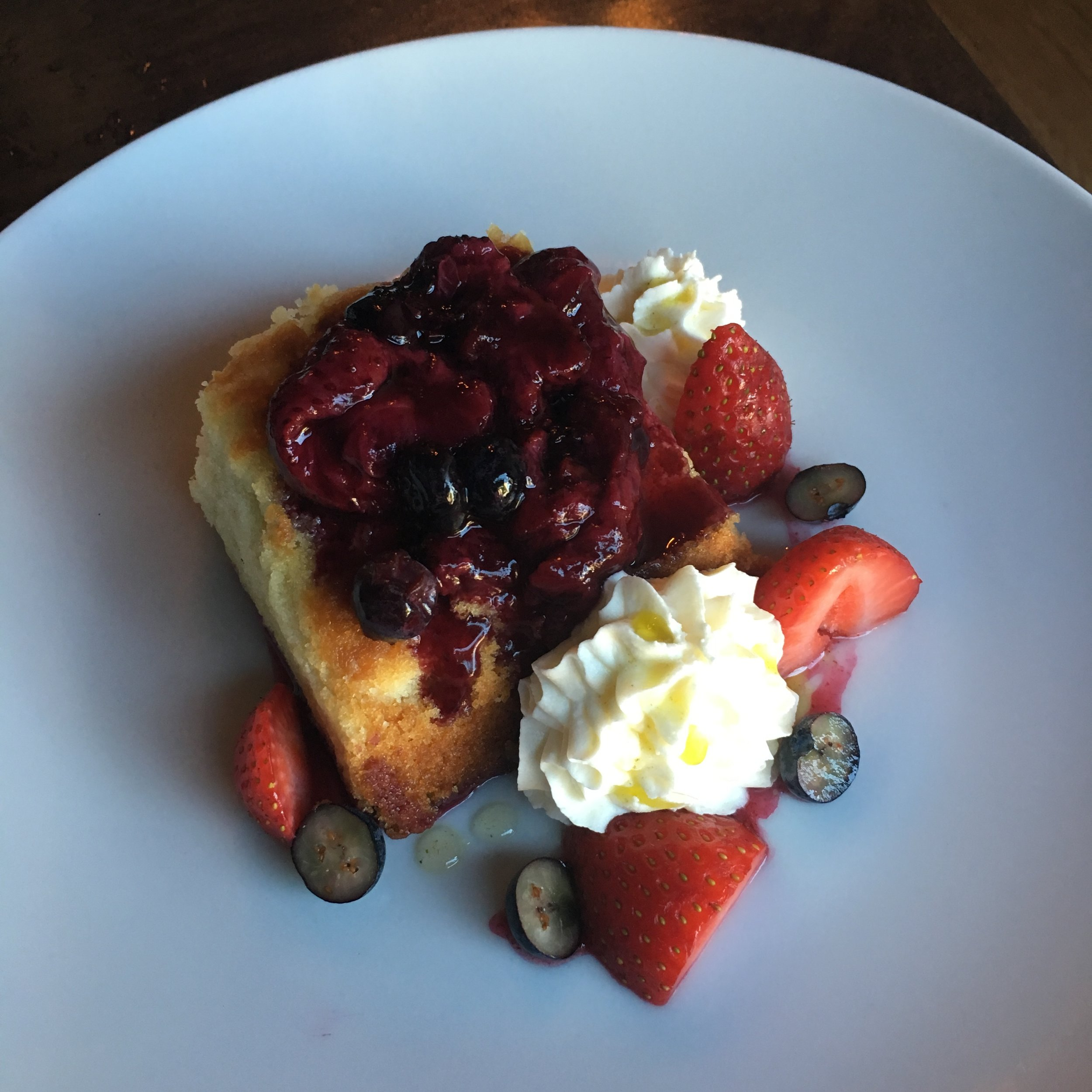 Summer Berry Shortcake $8
