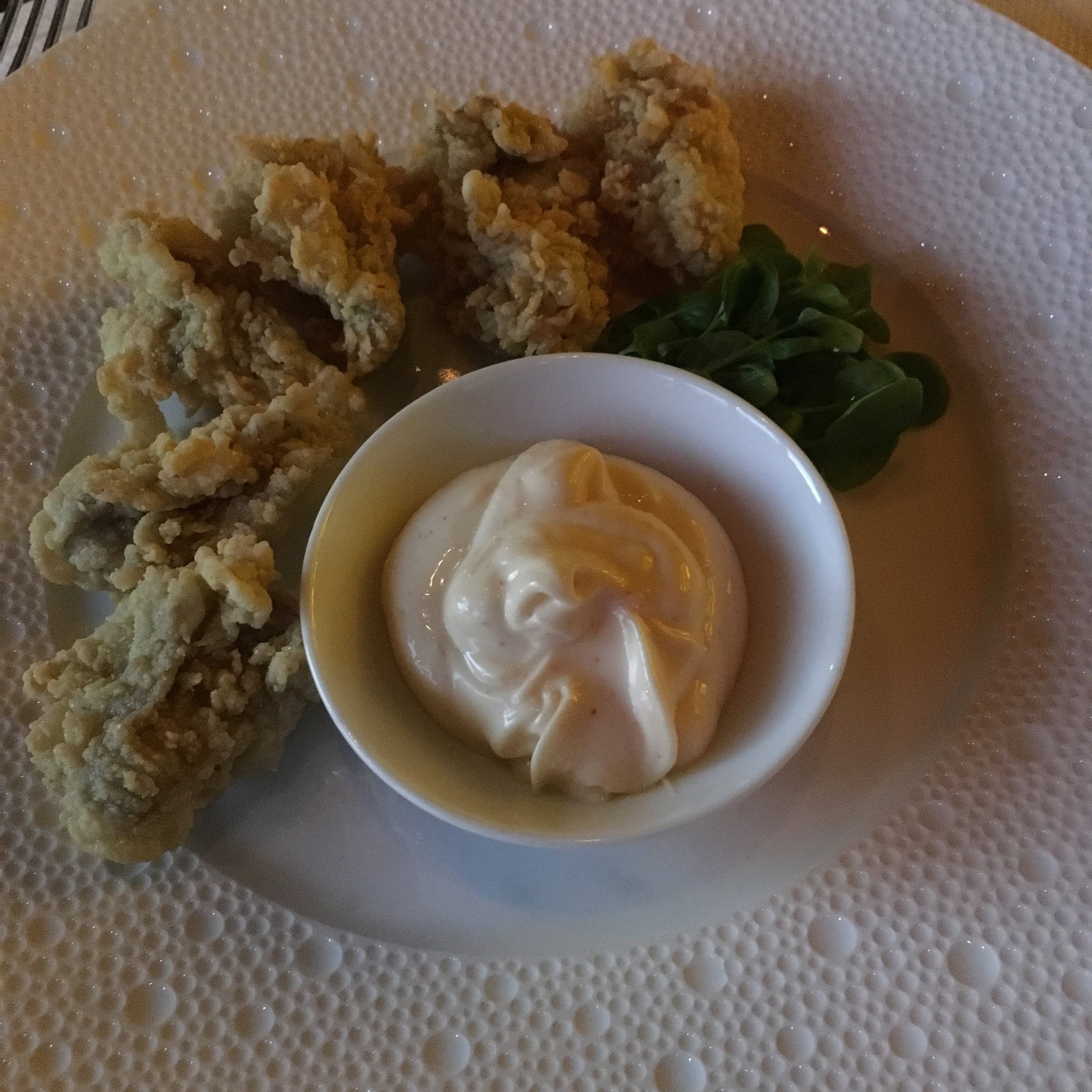 Cornmeal-Fried Oysters