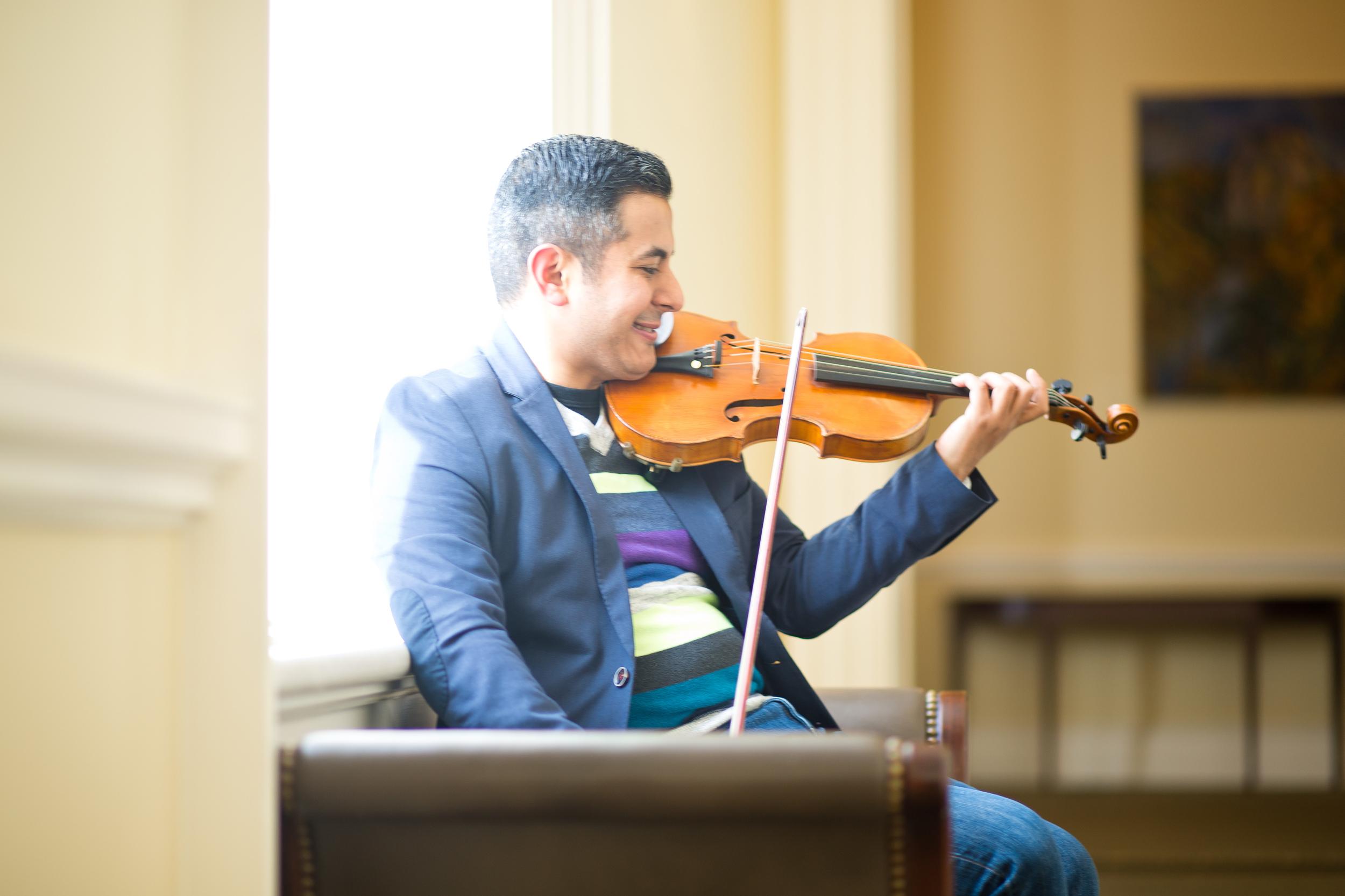 Job Salazar Fonseca Mexican-American Violinist