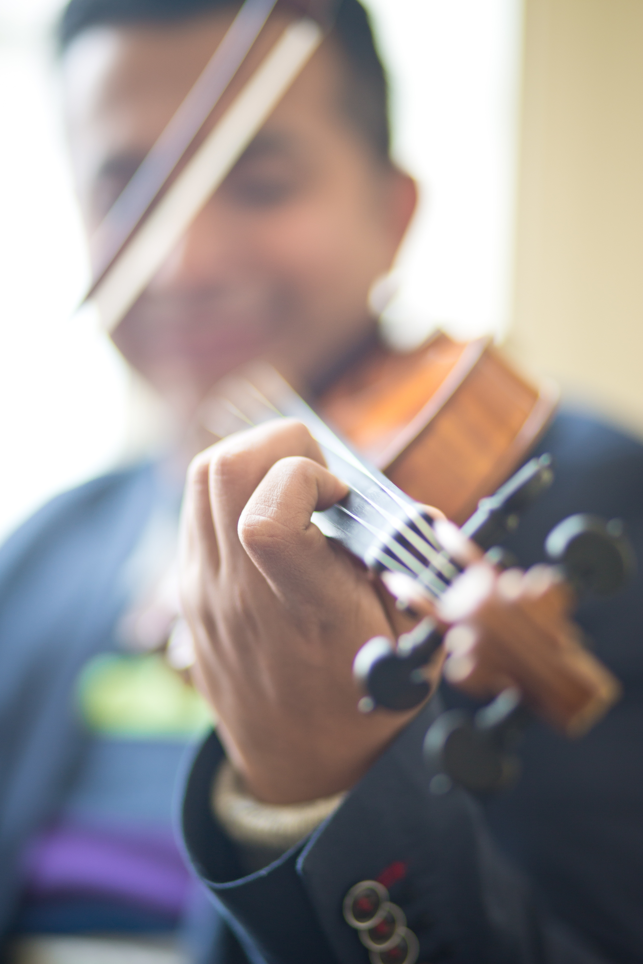 Mexican-American Violinist Job Salazar Fonseca