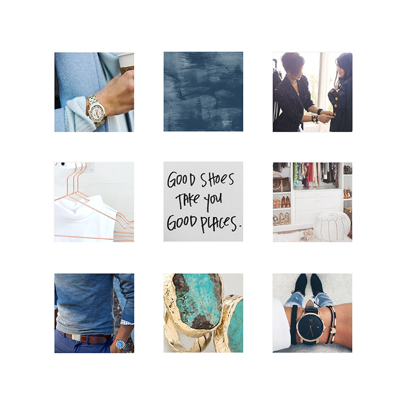 Moodboard for Threadly