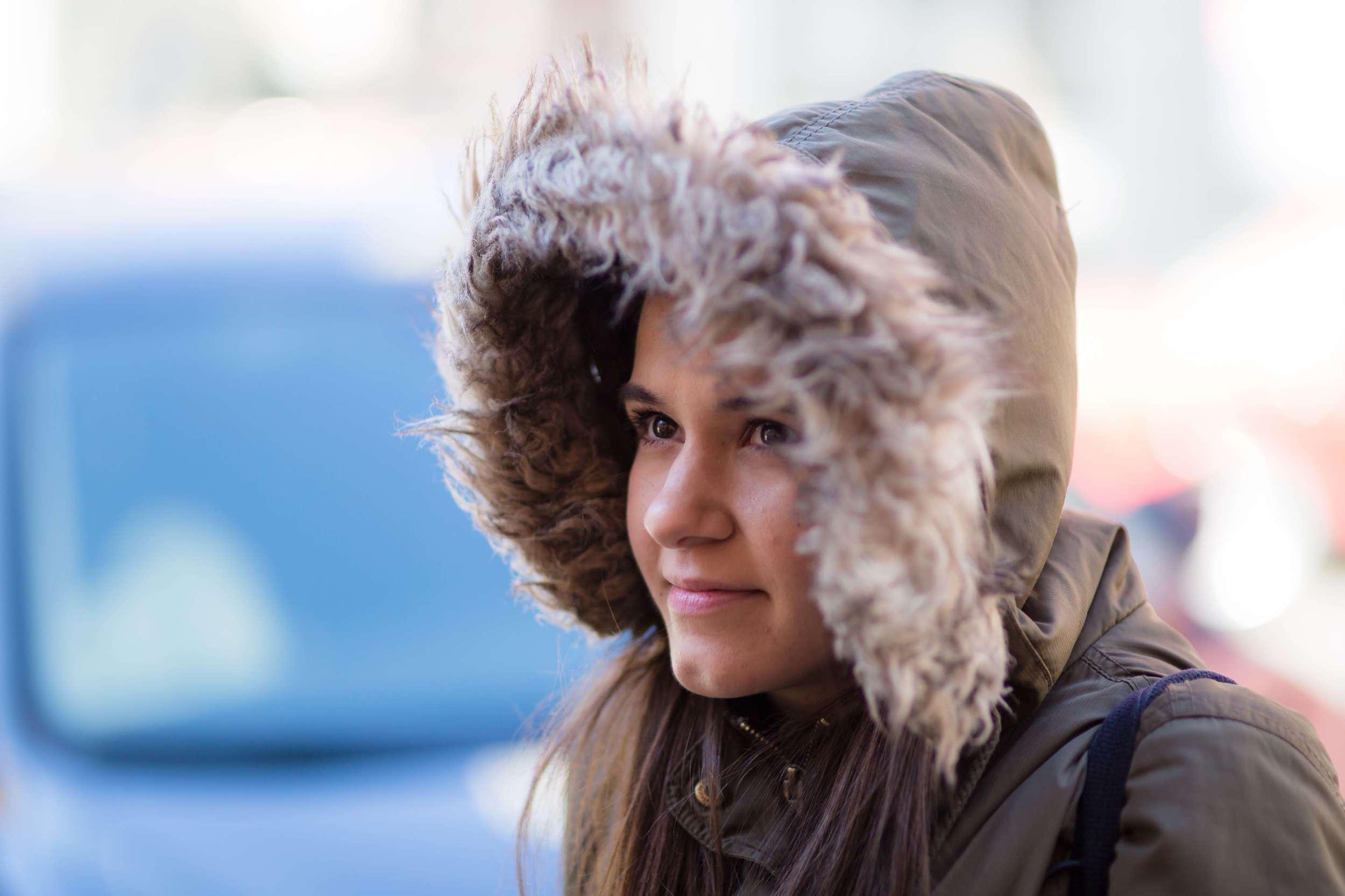 Amanda... a little cold :)